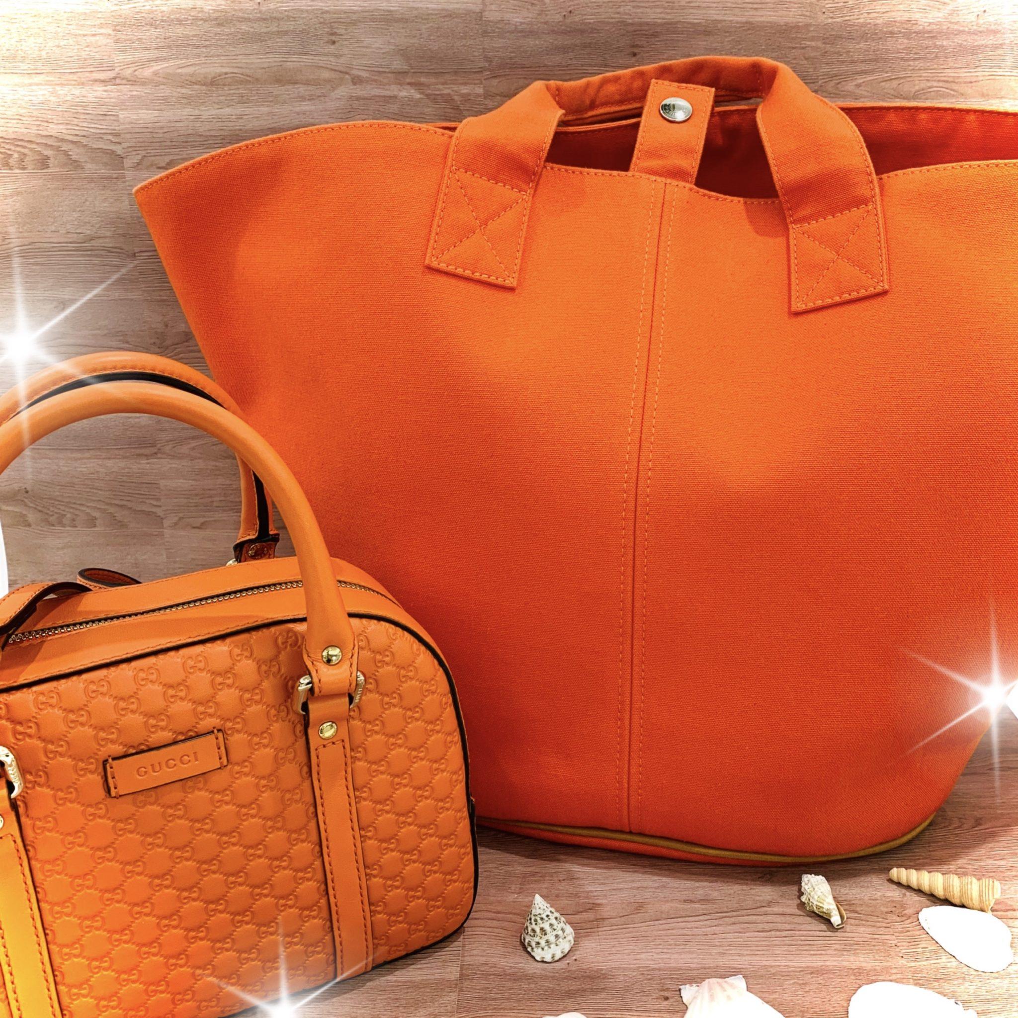 【ブランド 販売 盛岡】いよいよ8月!!夏らしいオレンジのバッグはいかがですか?