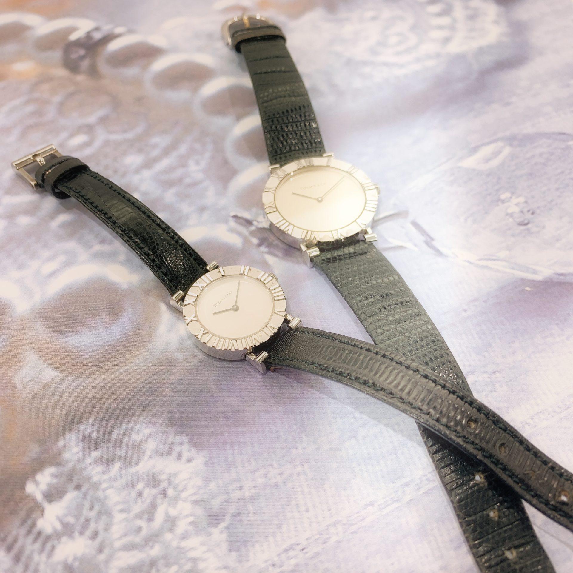 【時計 販売 盛岡】TIFFANY.Coのシンプルで美しい『アトラスウォッチ』