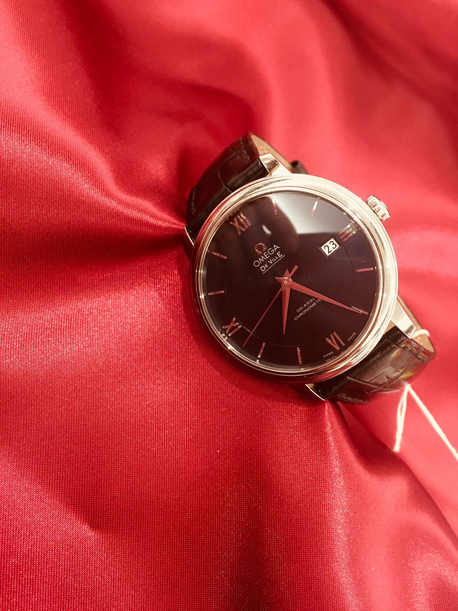 【盛岡 オメガ 販売】OMEGA DE VILLE デビル プレステージ 腕時計
