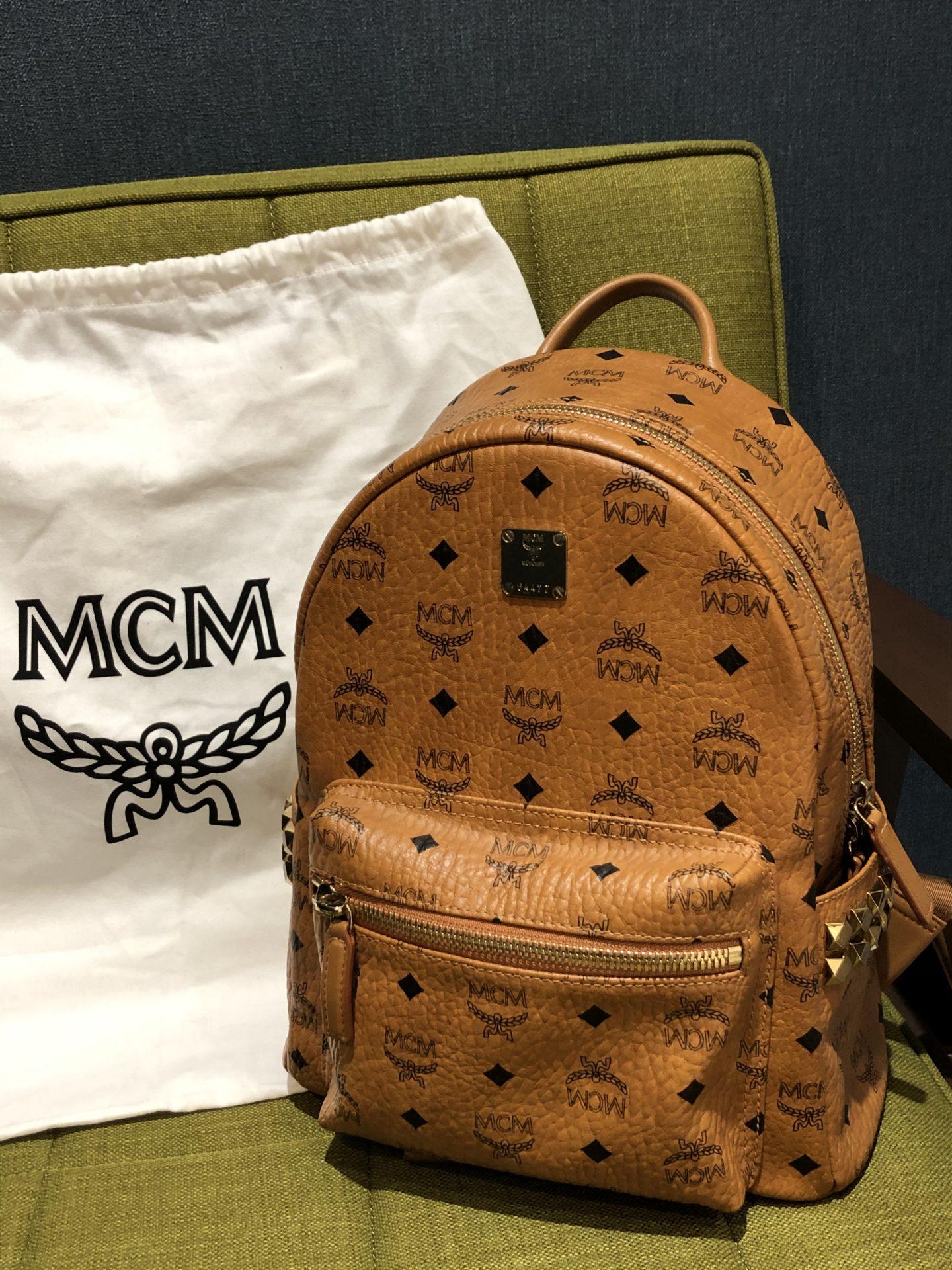 【MCM スターク スタッズ付バックパック】お買取りさせていただきました!