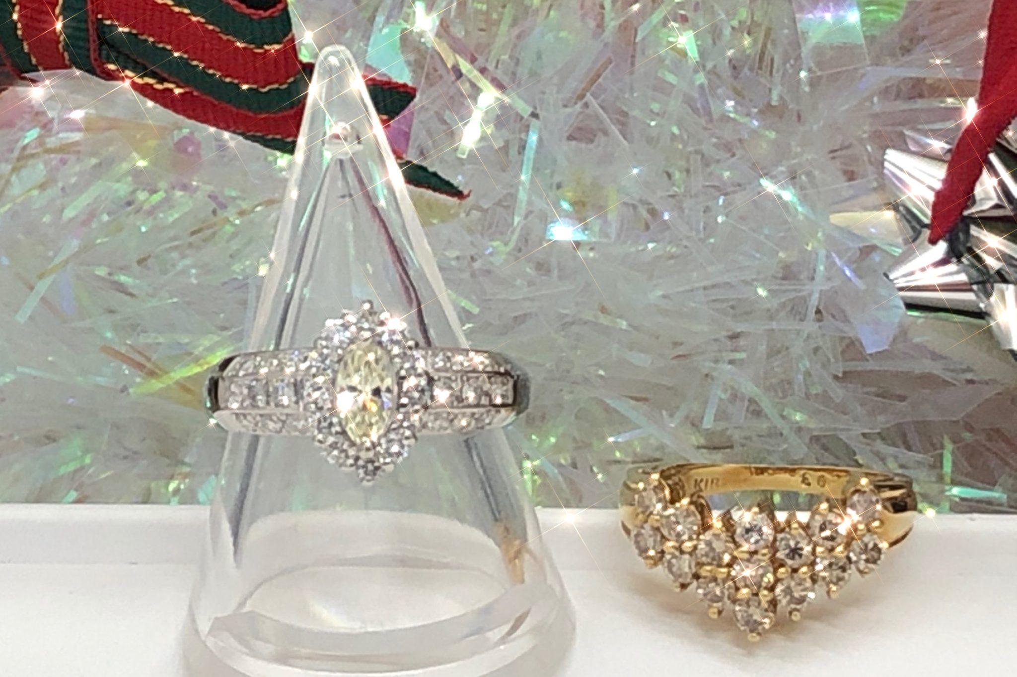 【ダイヤ 金プラチナ 買取 盛岡】ダイヤモンドジュエリーをお買取りさせていただきました。