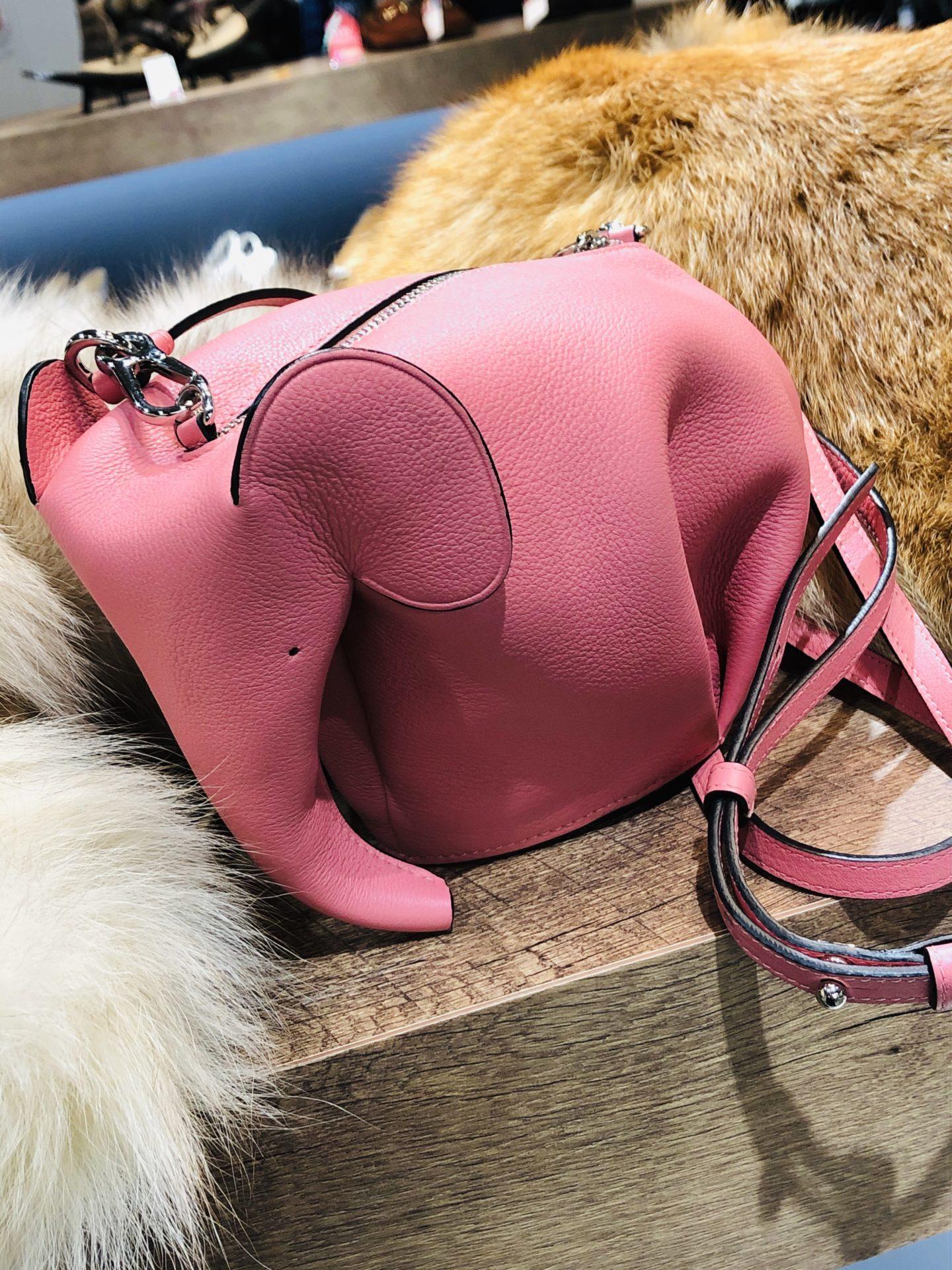 【LOEWE エレファントミニショルダーバッグ】をお買い取りさせていただきました!