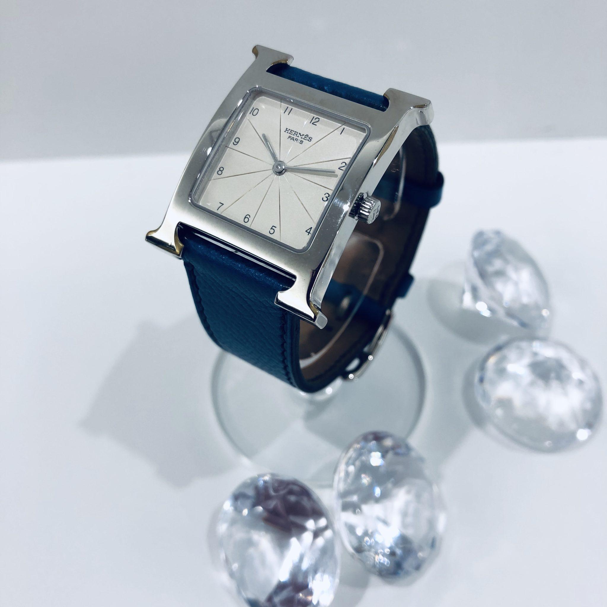 【盛岡 エルメス 販売】HERMES Hウォッチ RS1.505 時計