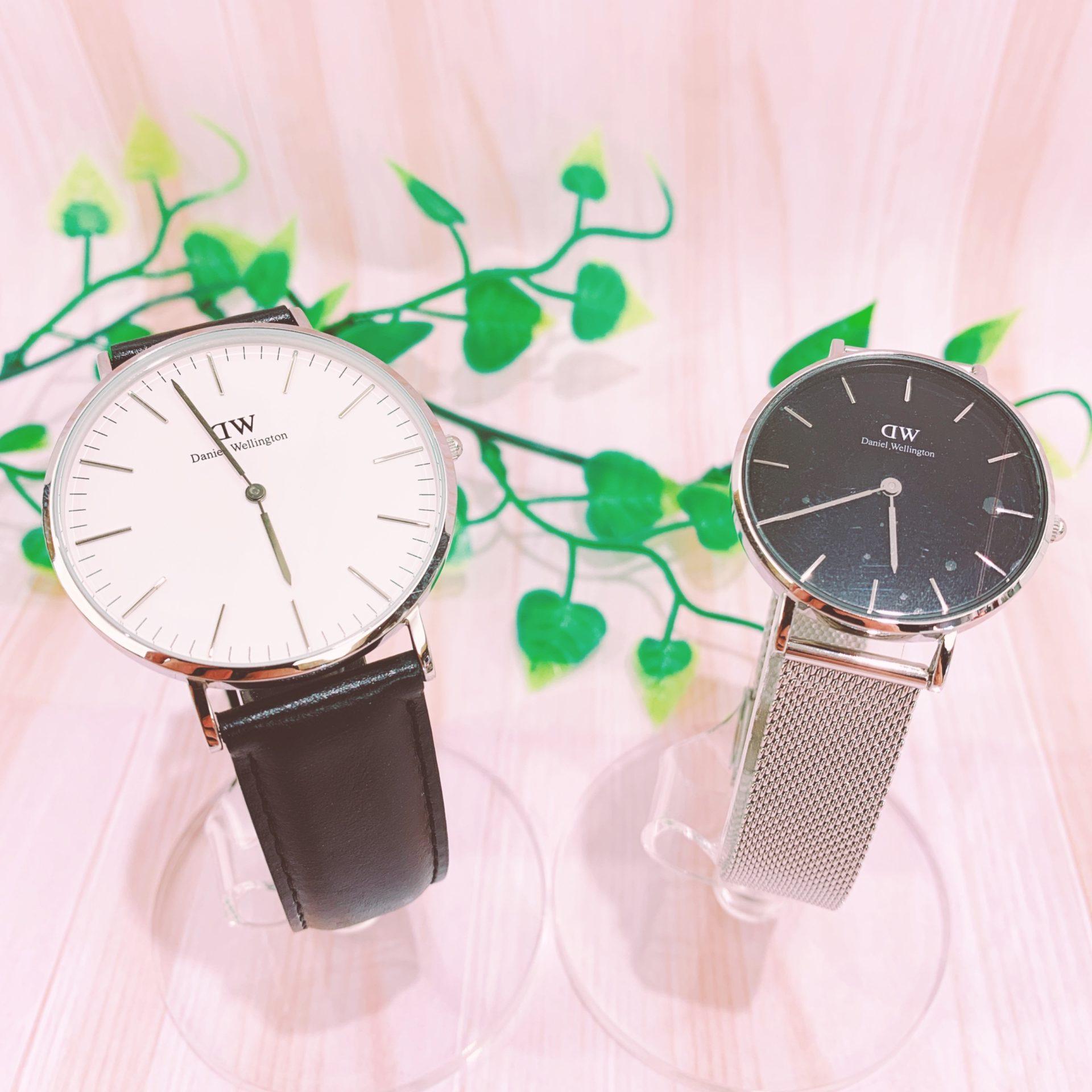 【時計 販売 盛岡】男女問わず人気 Daniel Wellingtonの時計