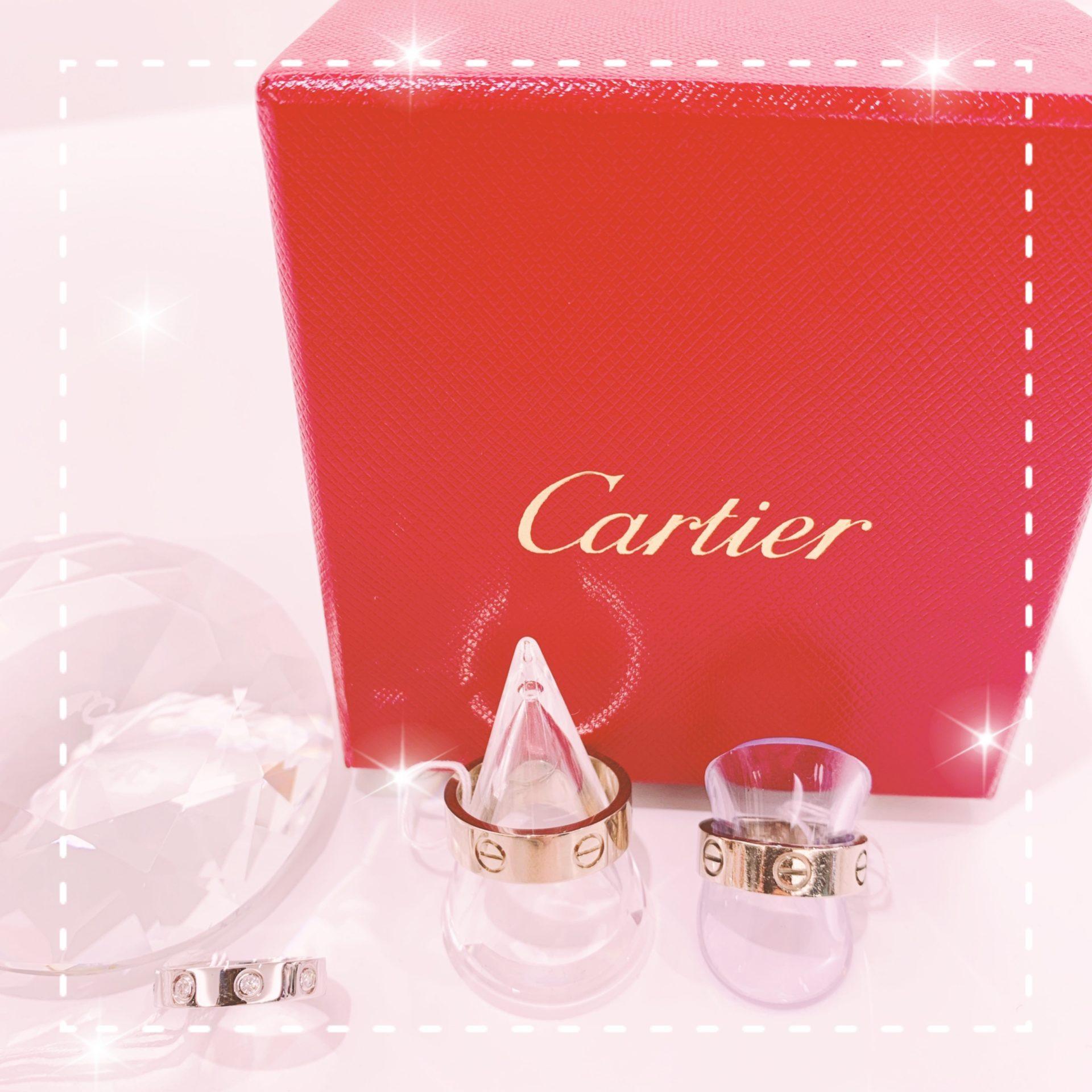 【中古 販売 盛岡】憧れのブランド【CARTIER】のリング
