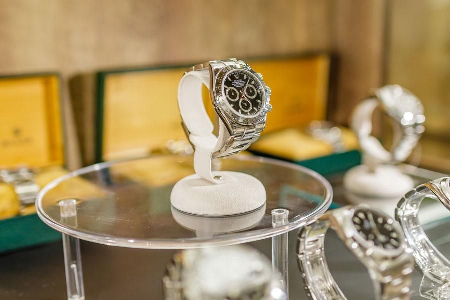 販売スペースイメージ時計
