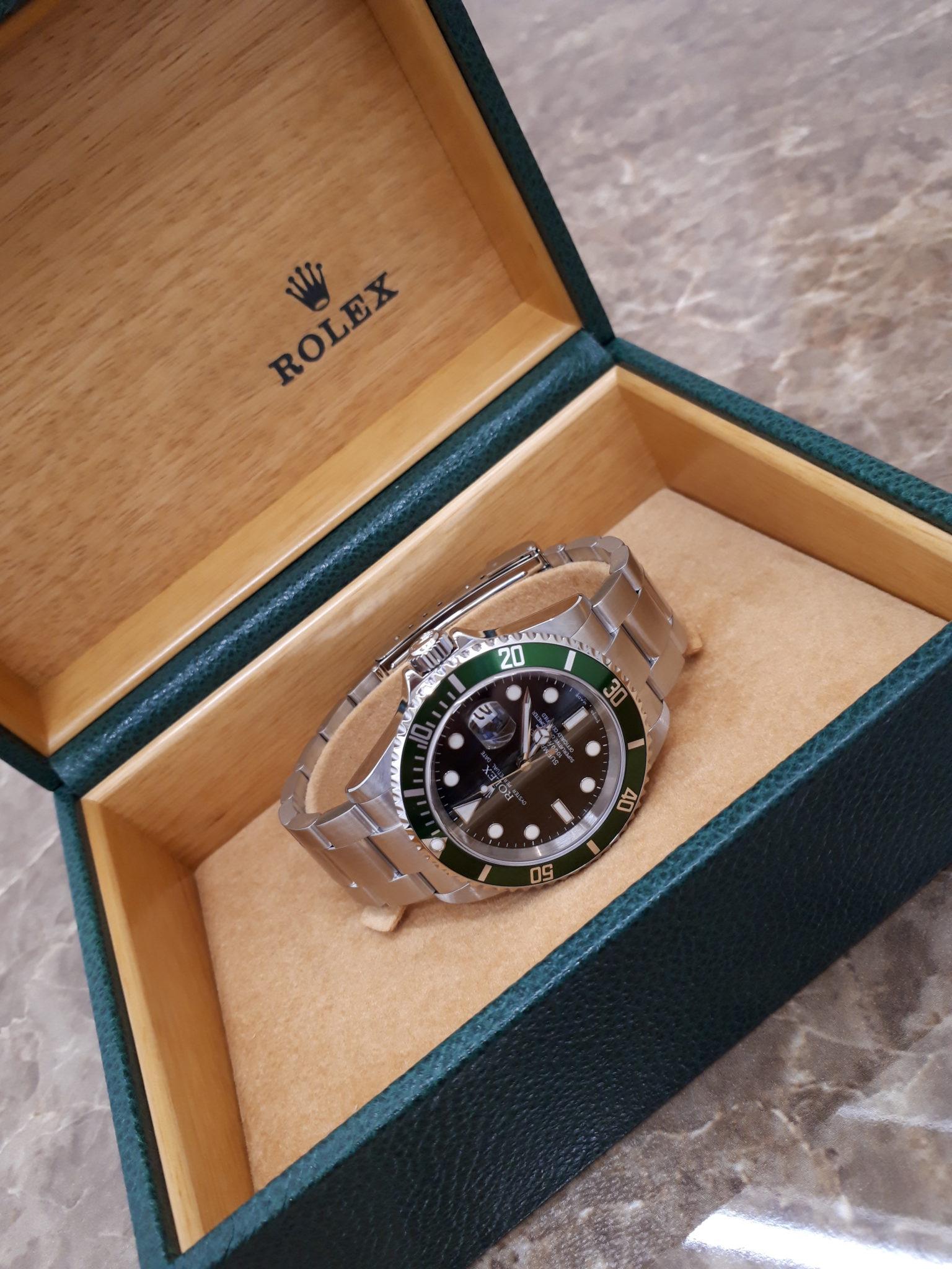 ROLEX  16610LV  グリーンサブ