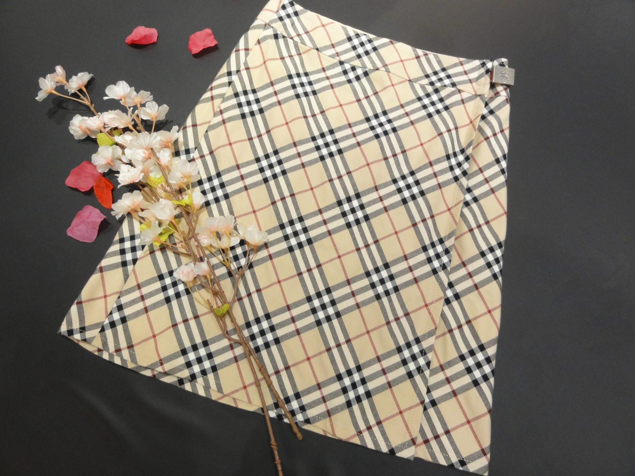 【盛岡 バーバリー 販売】BURBERRY BLUE LABEL ラップスカート