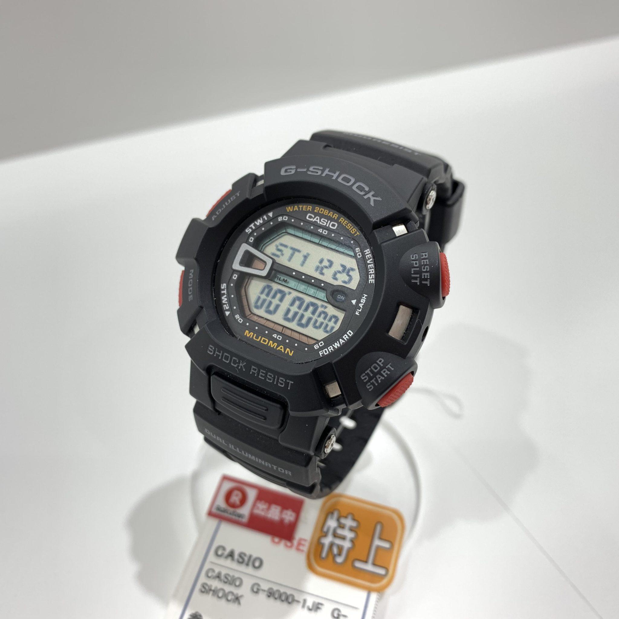 【盛岡 Gショック 販売】G-SHOCK MUDMAN G-9000-1JF ジーショック マッドマン