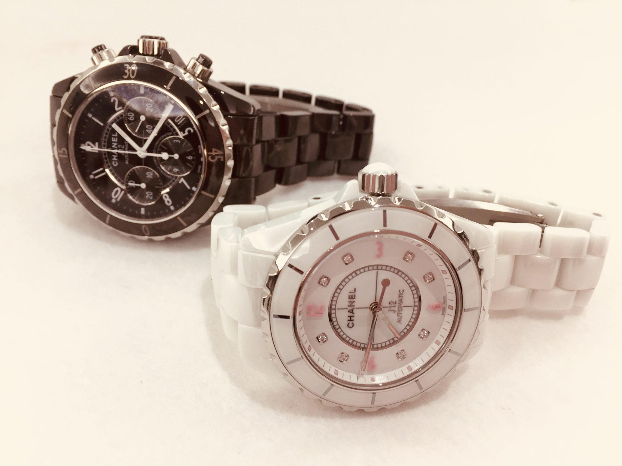 【盛岡 シャネル 販売】オシャレな時計「CHANEL J12」