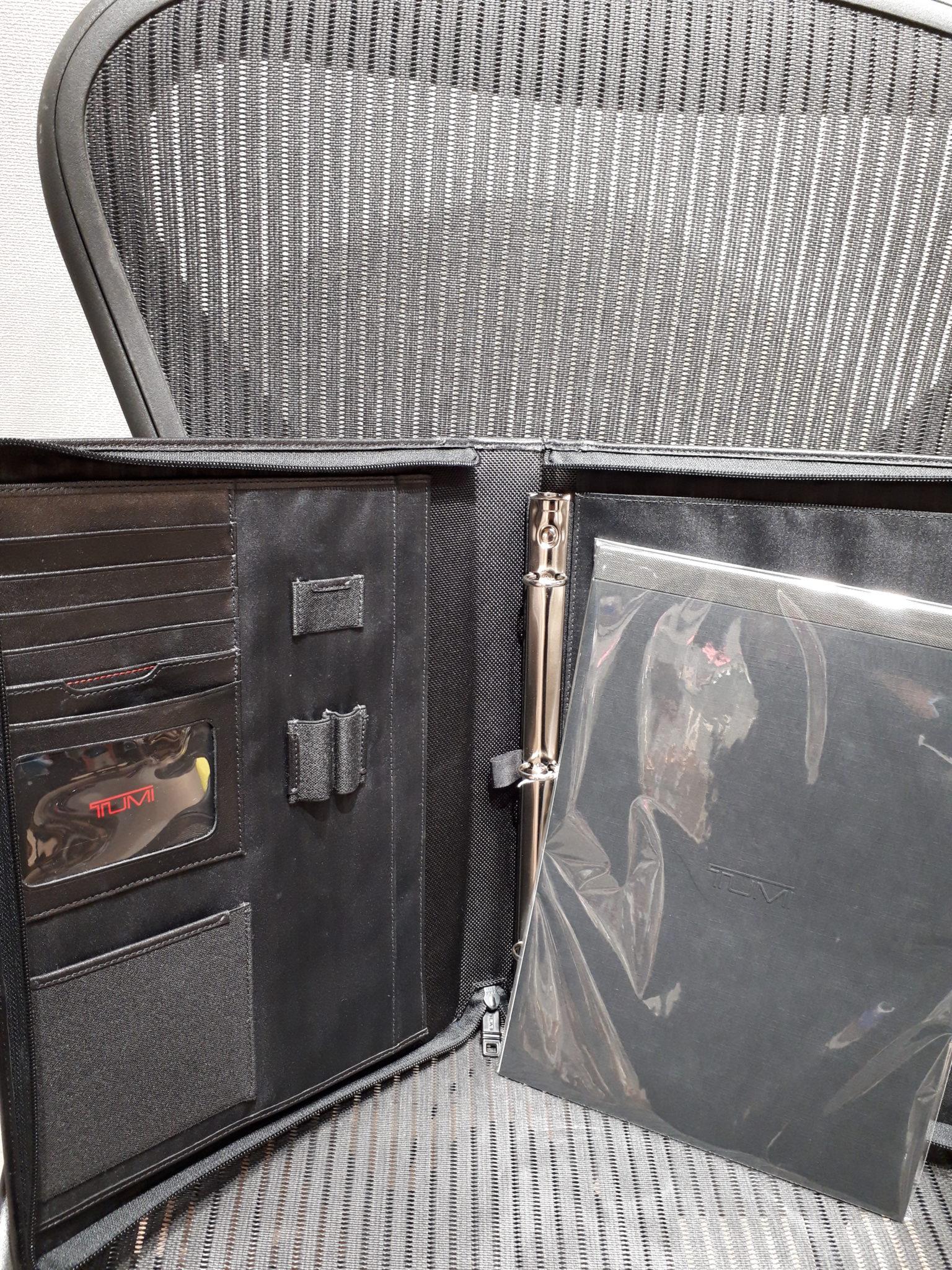 【TUMI バインダーケース】を盛岡市のお客様より買取させていただきました!