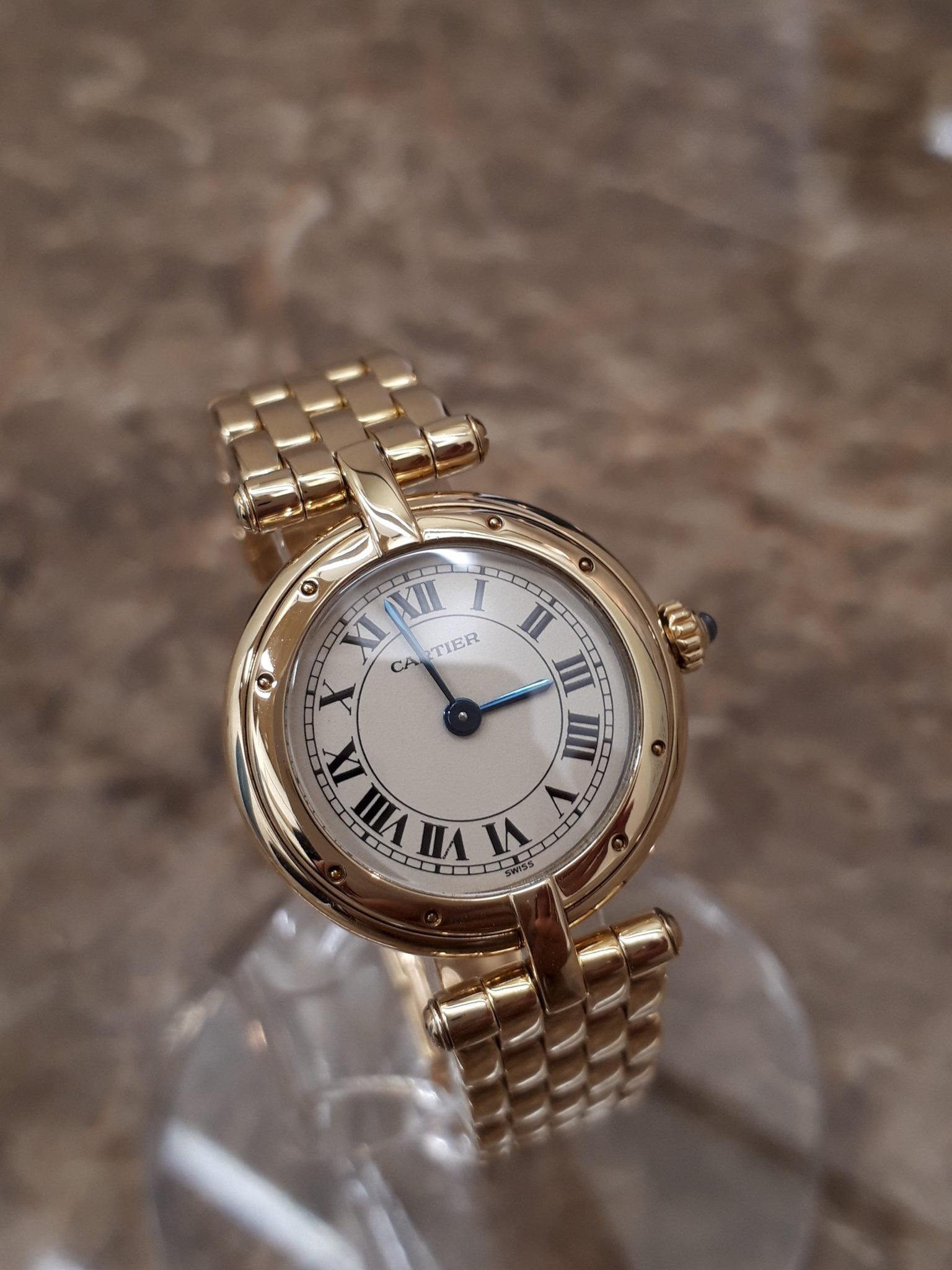 【Cartier カルティエ パンテールヴァンドーム 18K】を盛岡市のお客様からお買取させて頂きました!