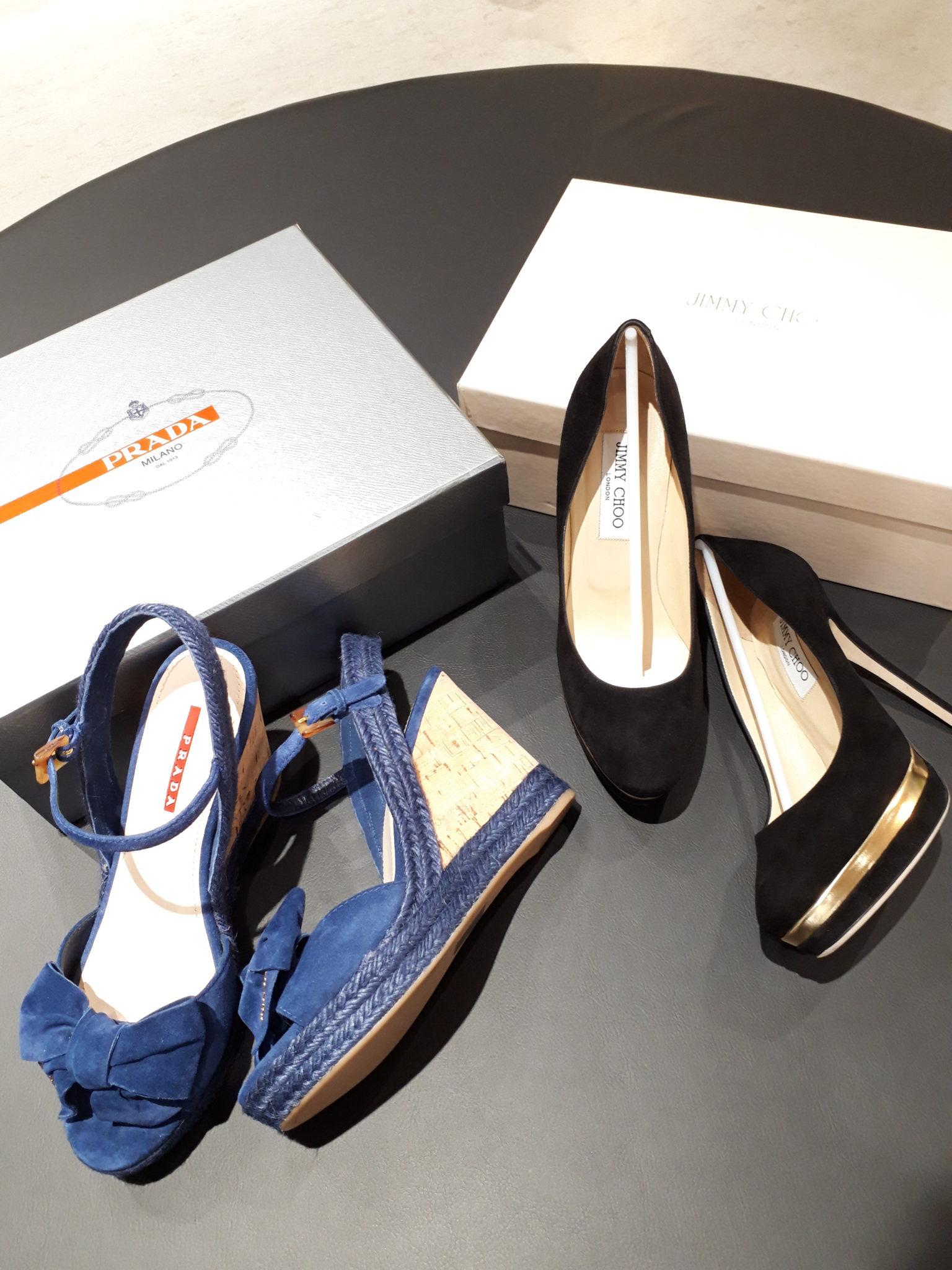 【プラダ ジミーチュウ ブランド靴】を盛岡市のお客様より買取させていただきました!
