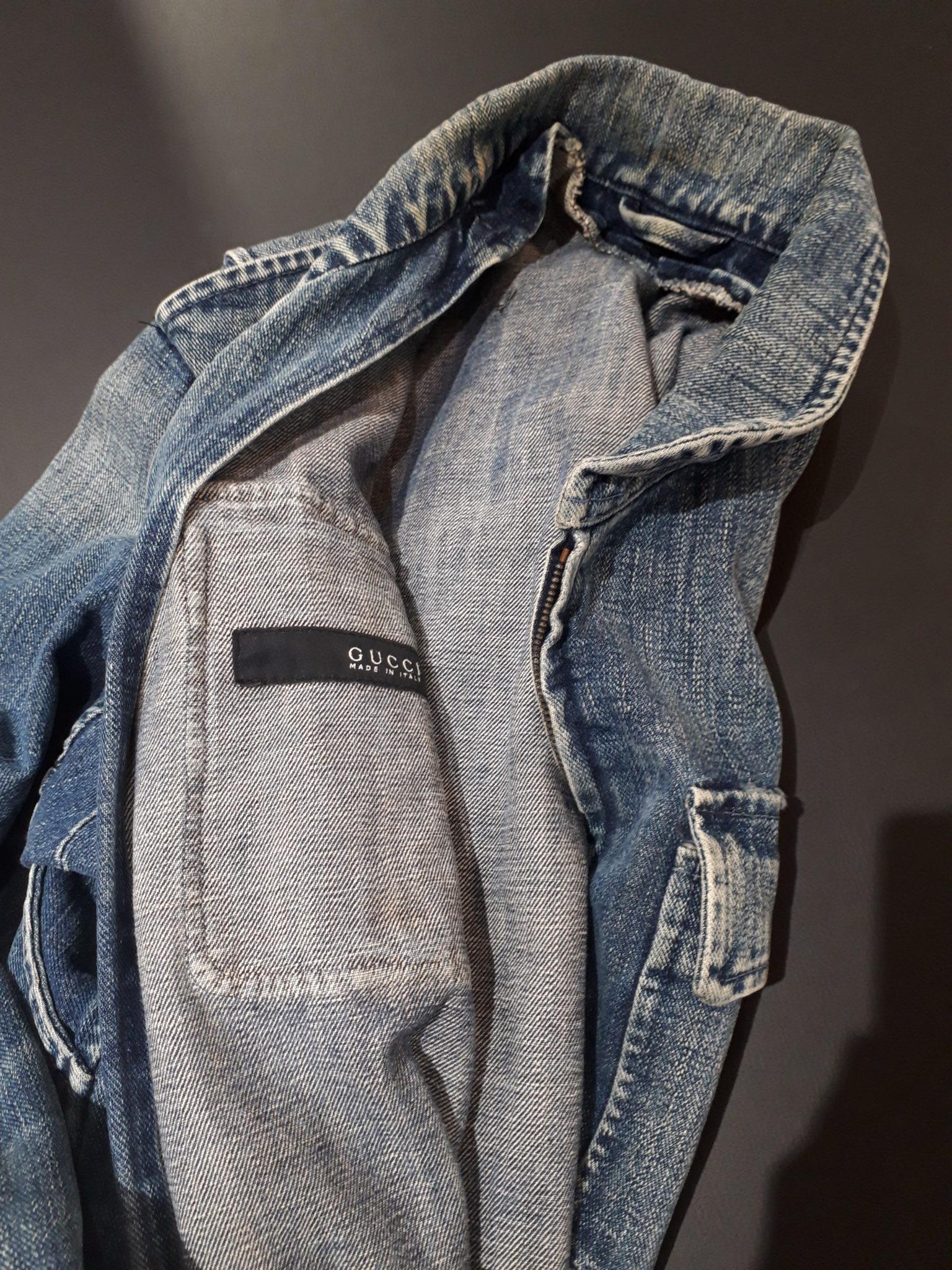 【グッチ GUCCI デニムジャケット】を盛岡市のお客様よりお買い取りさせていただきました!