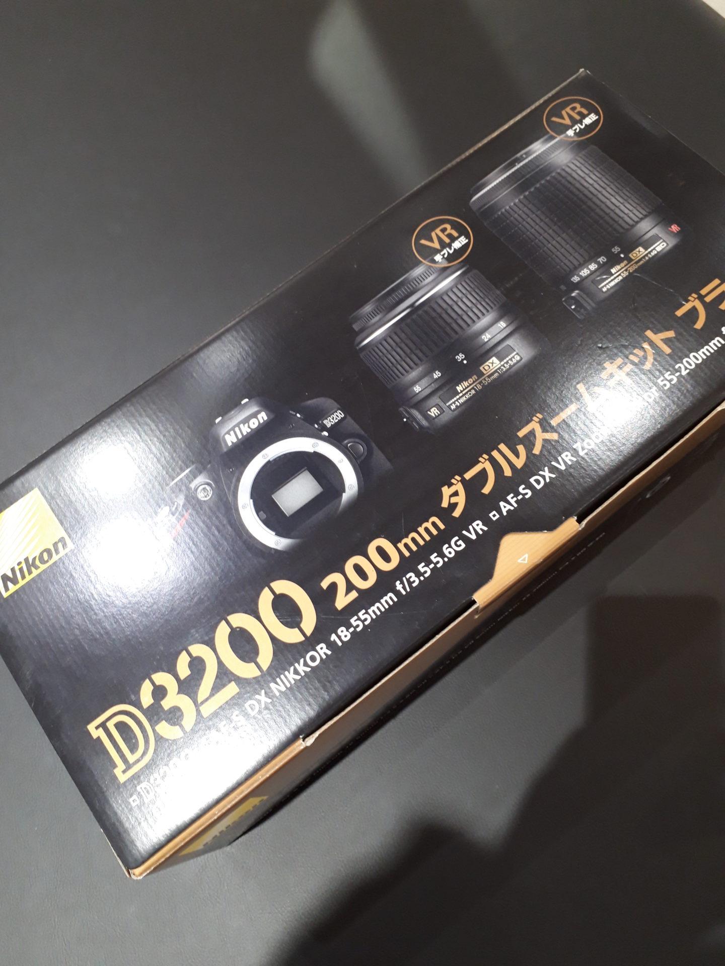 【Nikon D3200ダブルズームキット】を盛岡市のお客様より買取させていただきました!