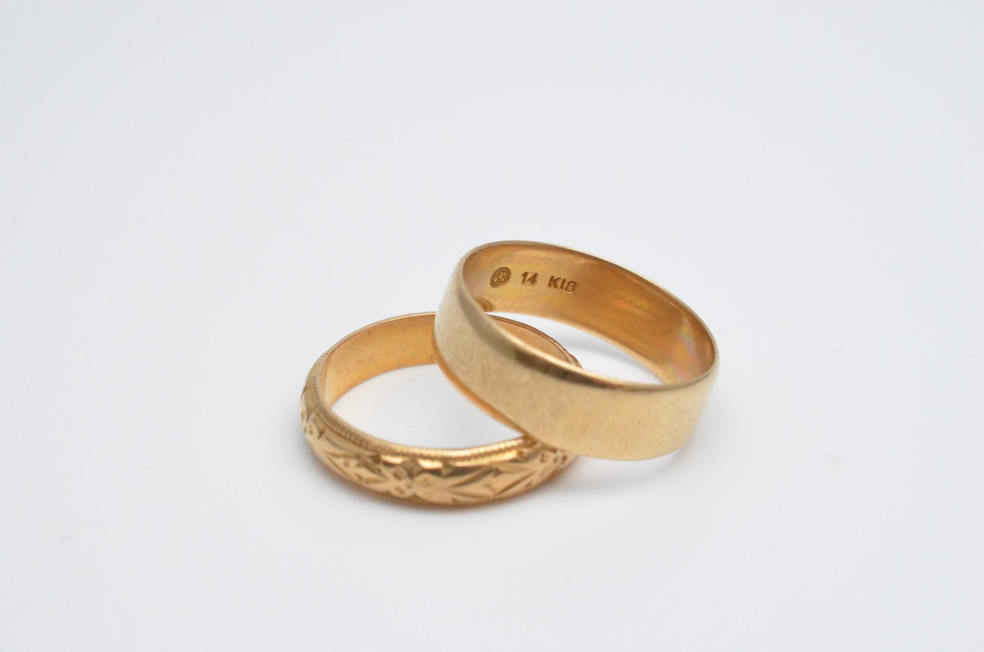 【岩手 盛岡 お金を借りる】18金の指輪を質入れする場合