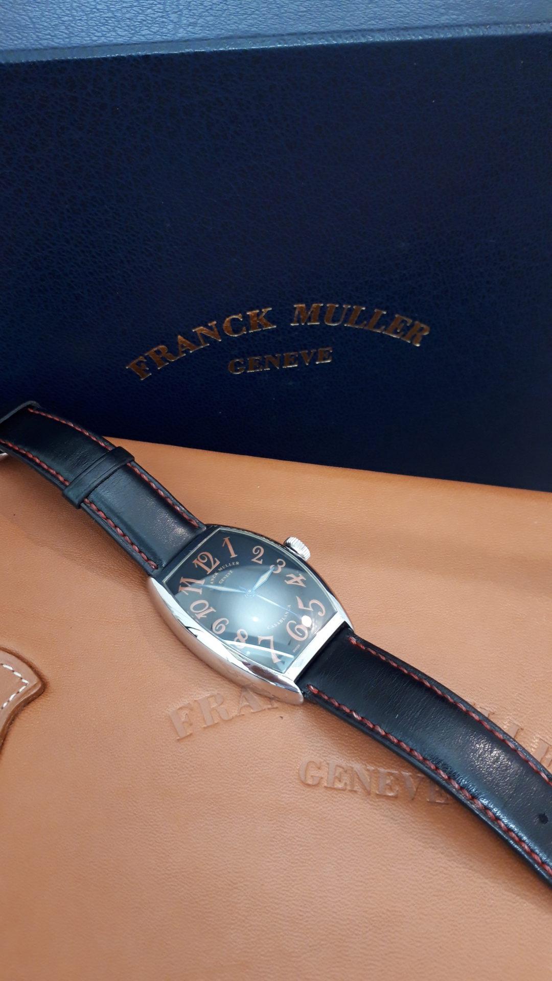 【FRANCK MULER フランクミュラー 5850 カサブランカ】を盛岡市のお客様よりお買い取りさせていただきました!