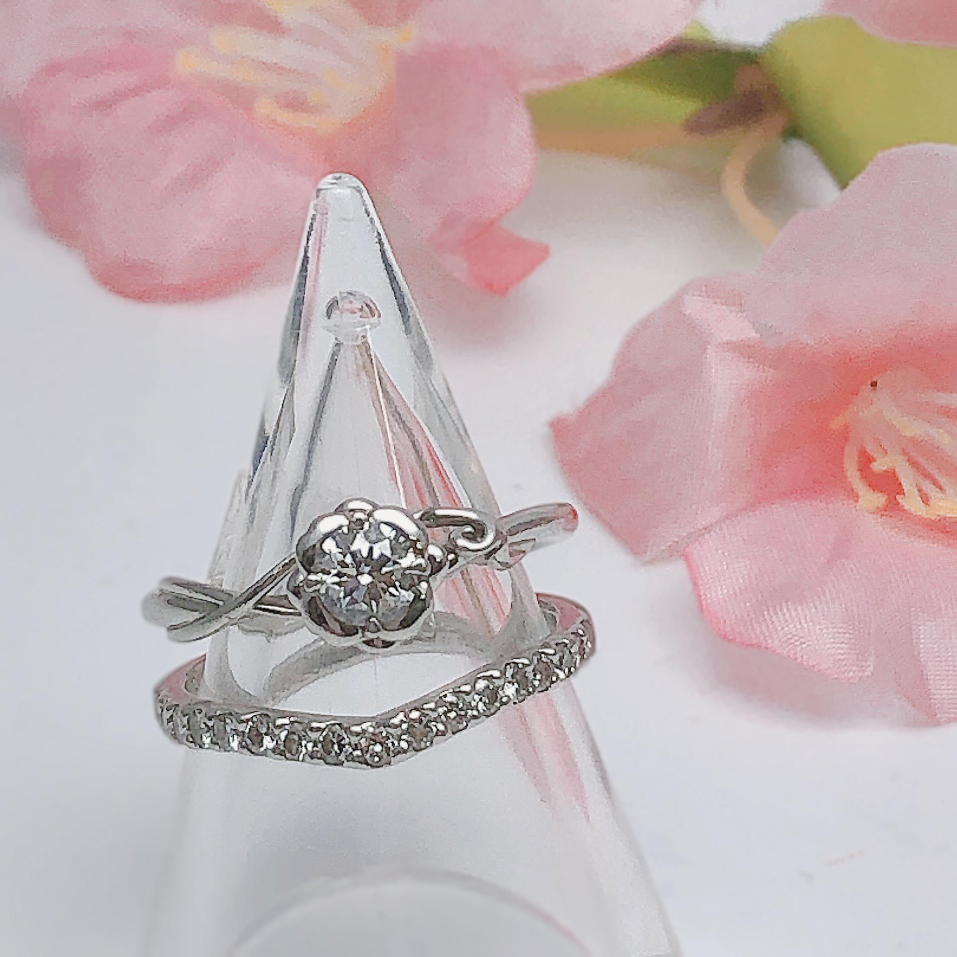 【ダイヤ 買取 盛岡】ダイヤモンドリングを盛岡市のお客様よりお買取させていただきました!