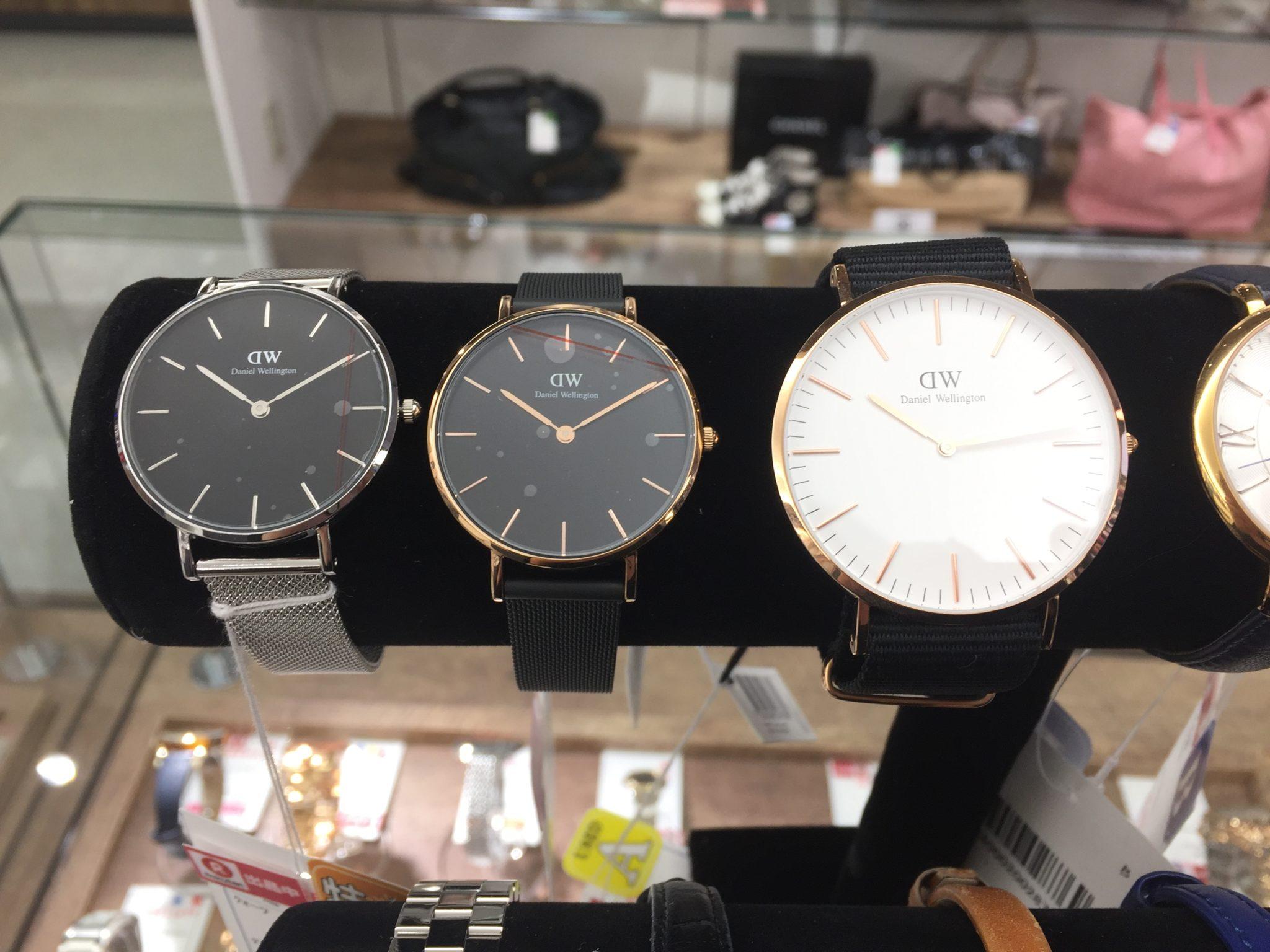 【盛岡 DW 販売】Daniel wellington ダニエルウェリントン 腕時計