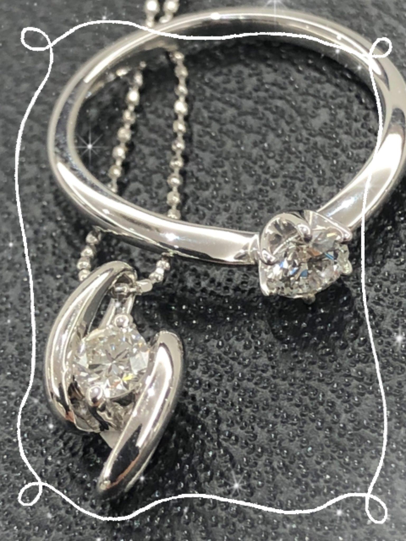 【ダイヤ 販売 盛岡】ひとつは持っていたいジュエリー 一粒ダイヤ