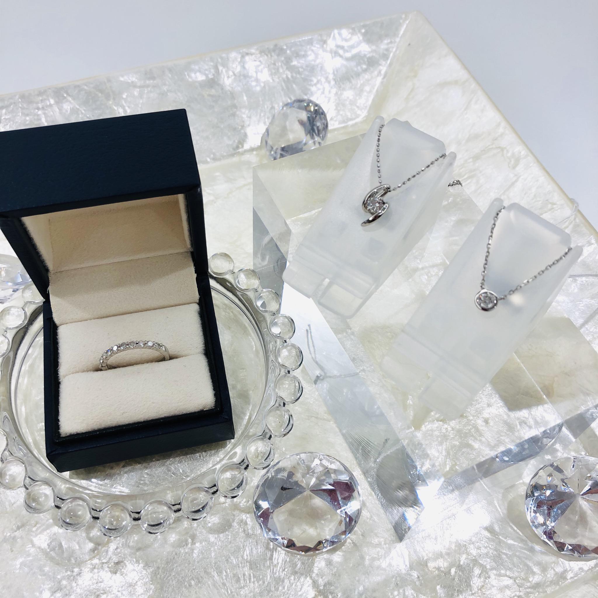 【盛岡 ジュエリー 販売】女性なら誰もが憧れるダイヤモンドジュエリー