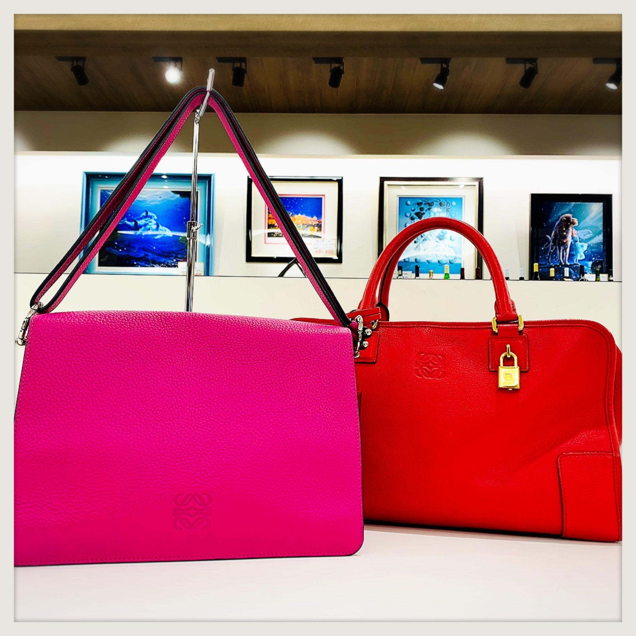 【ロエベ 販売 盛岡】今の季節に可愛いカラー♡ 冬のコーデに合わせたい LOEWE ロエベのバッグ