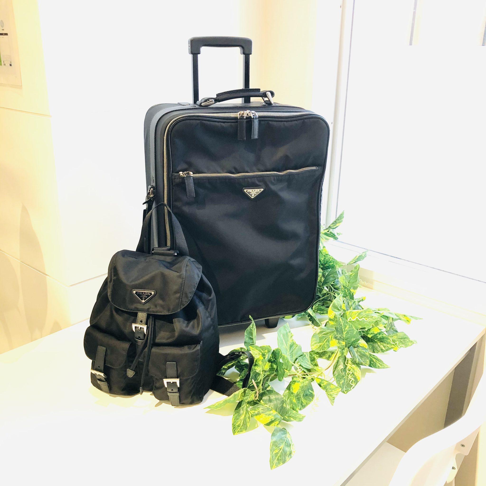 【プラダ 販売 盛岡】子供連れでの帰省や旅行に便利なキャリーバッグ&リュック
