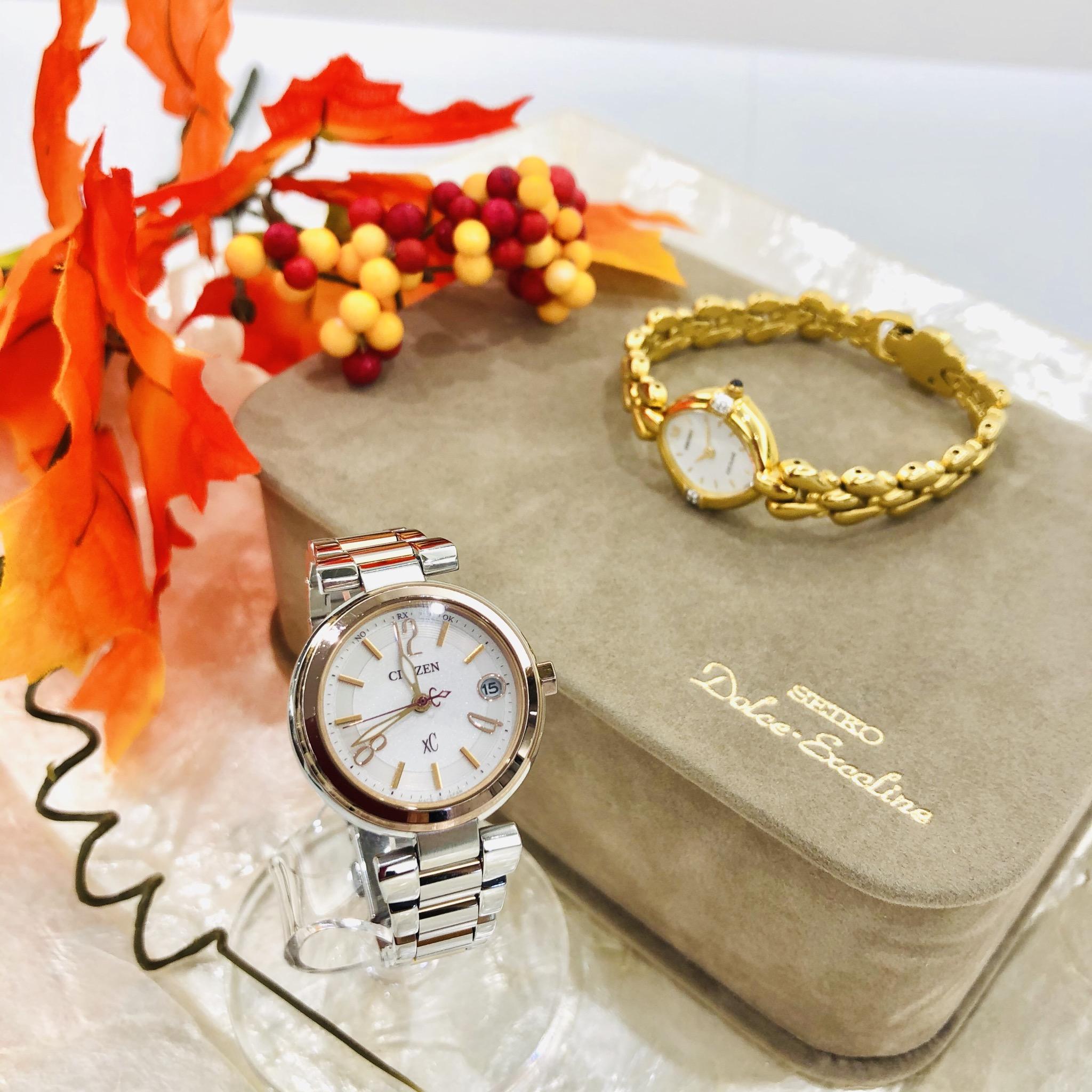 【盛岡 時計 販売】大人の女性らしさあふれるクロッシー&エクセリーヌ