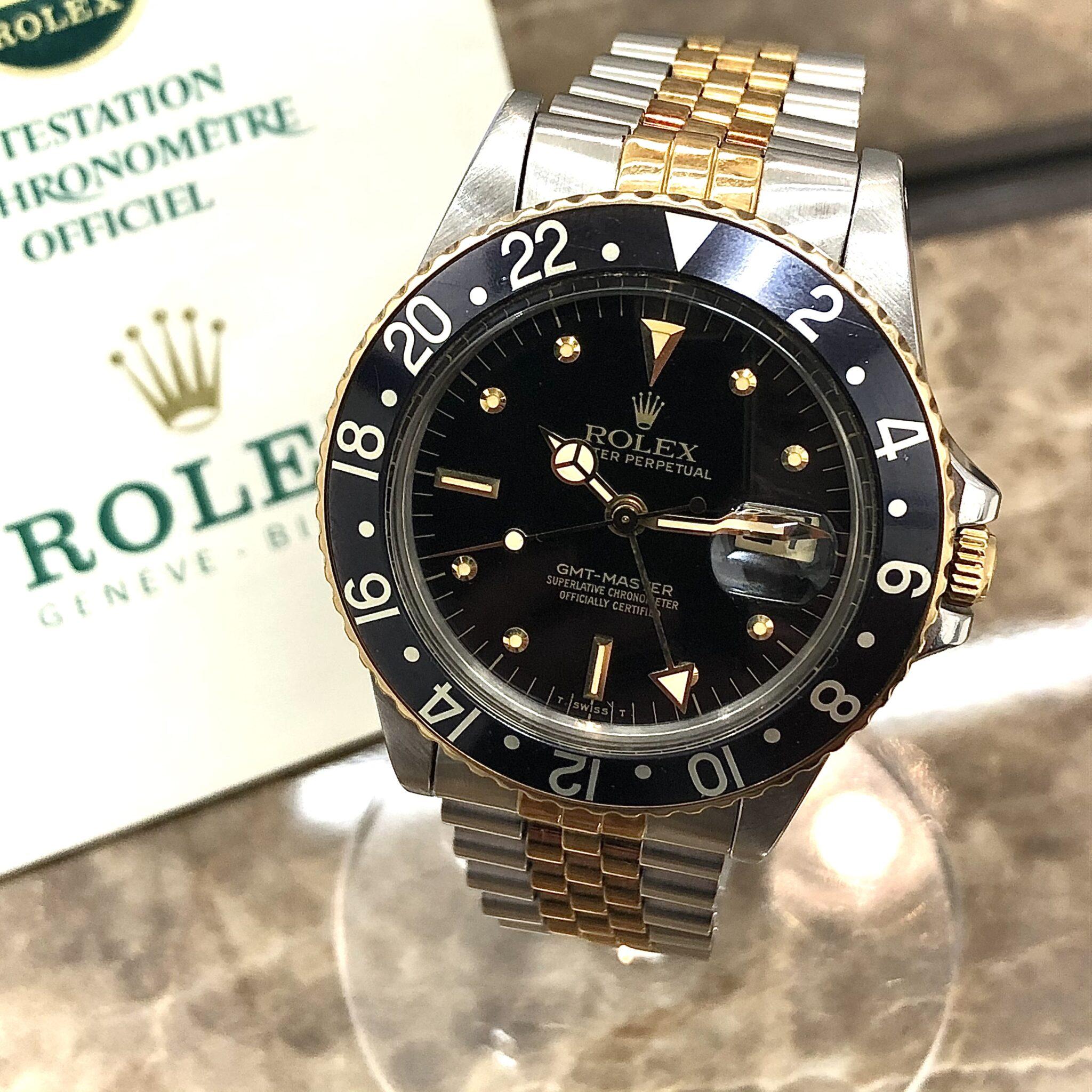 【ロレックス 買取 盛岡】ロレックス GMTマスター 16753をお買取りさせていただきました!