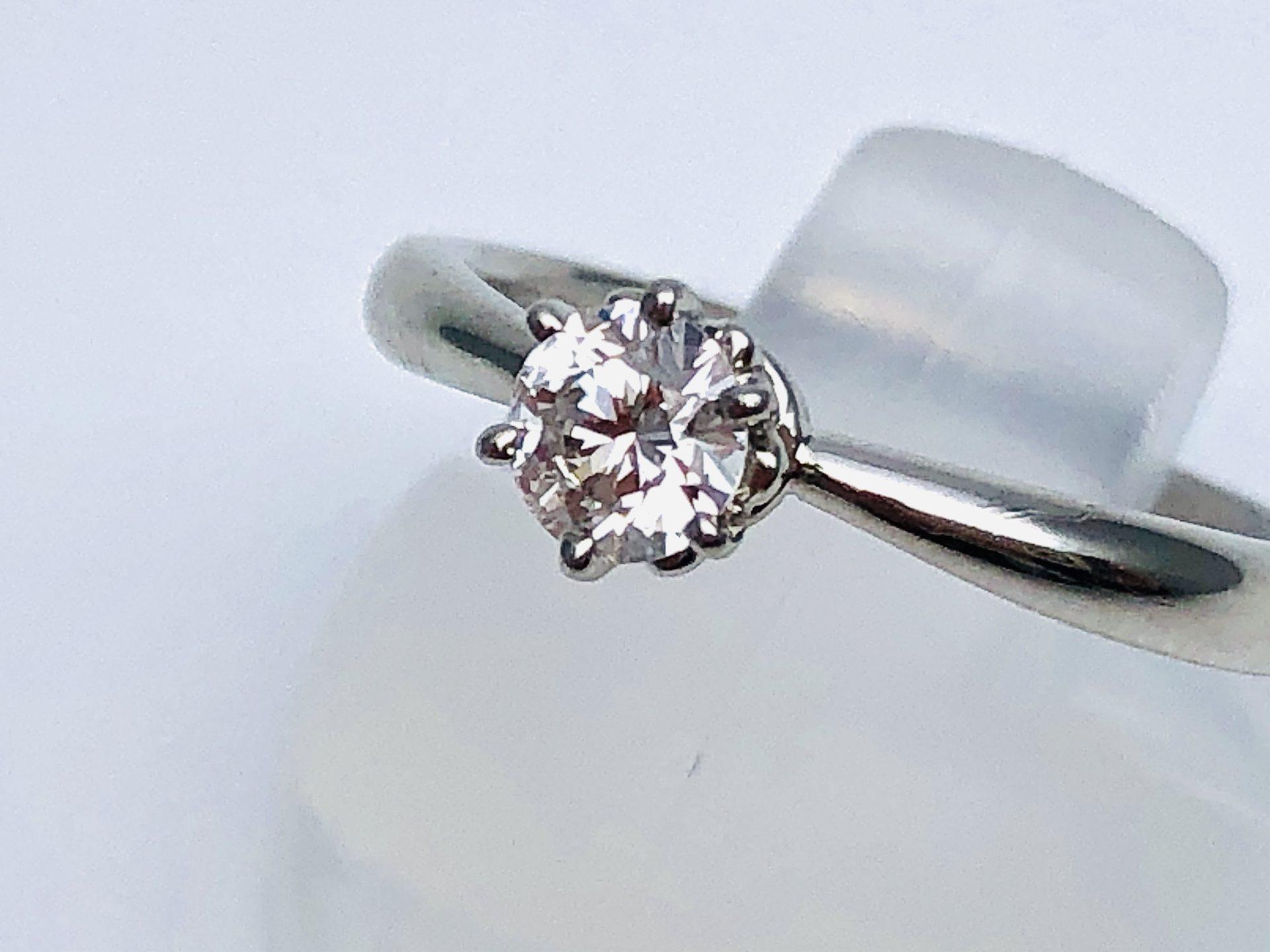 【プラチナ950 ダイヤモンドリング】を盛岡市のお客様からお買い取りさせていただきました!
