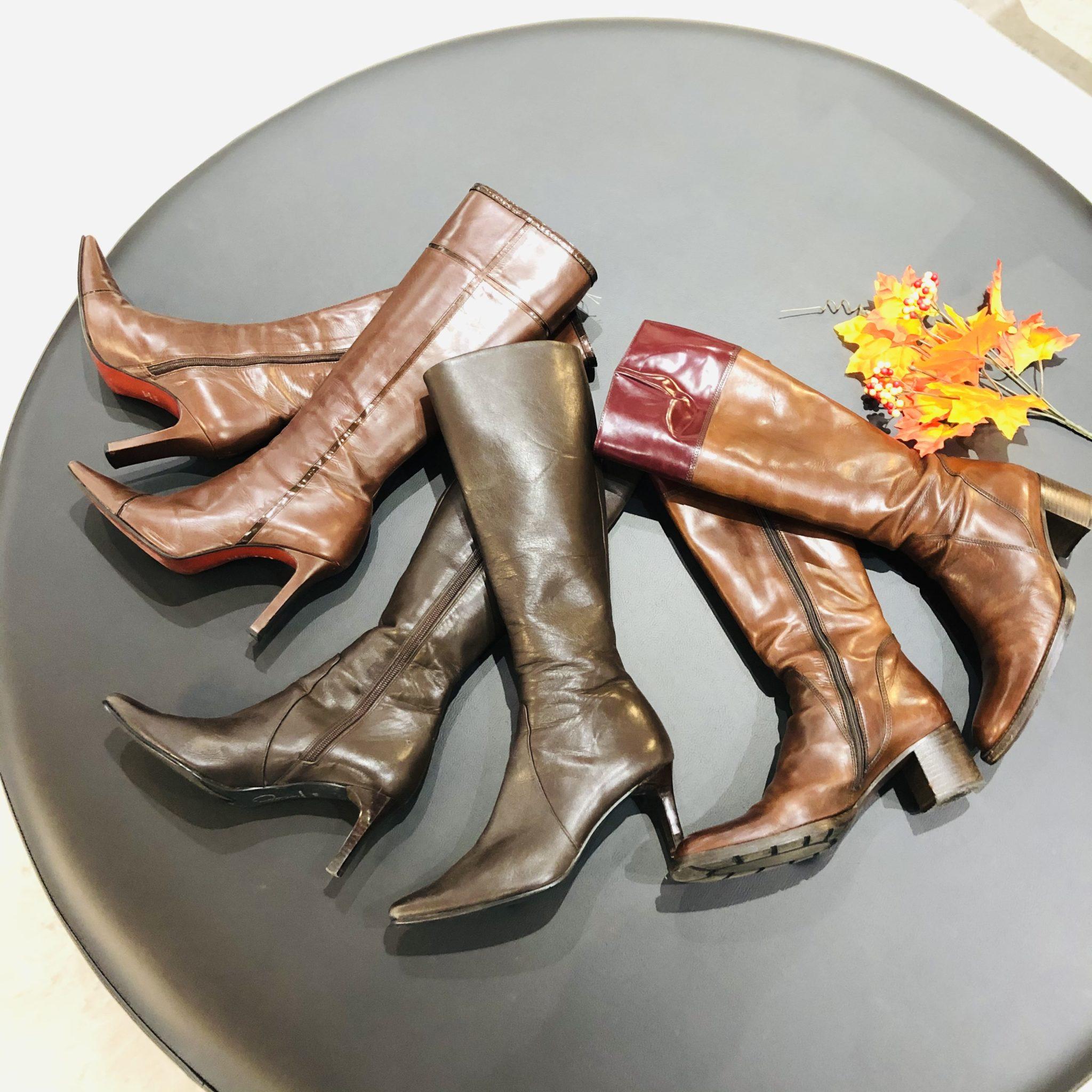 【ブランド 販売 盛岡】この秋は足元をブーツでキメてみませんか?