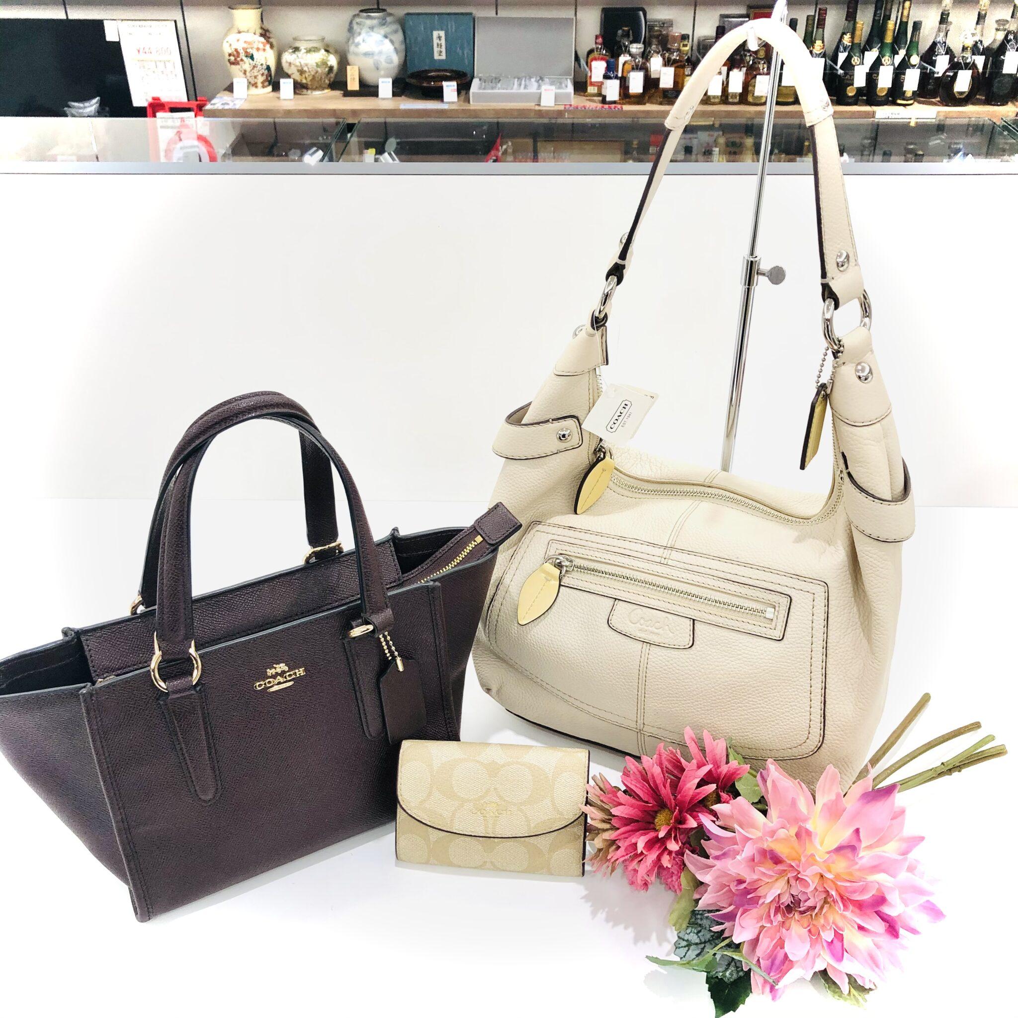 【コーチ 販売 盛岡】気分を新たに春に向けて『COACH』のバッグ