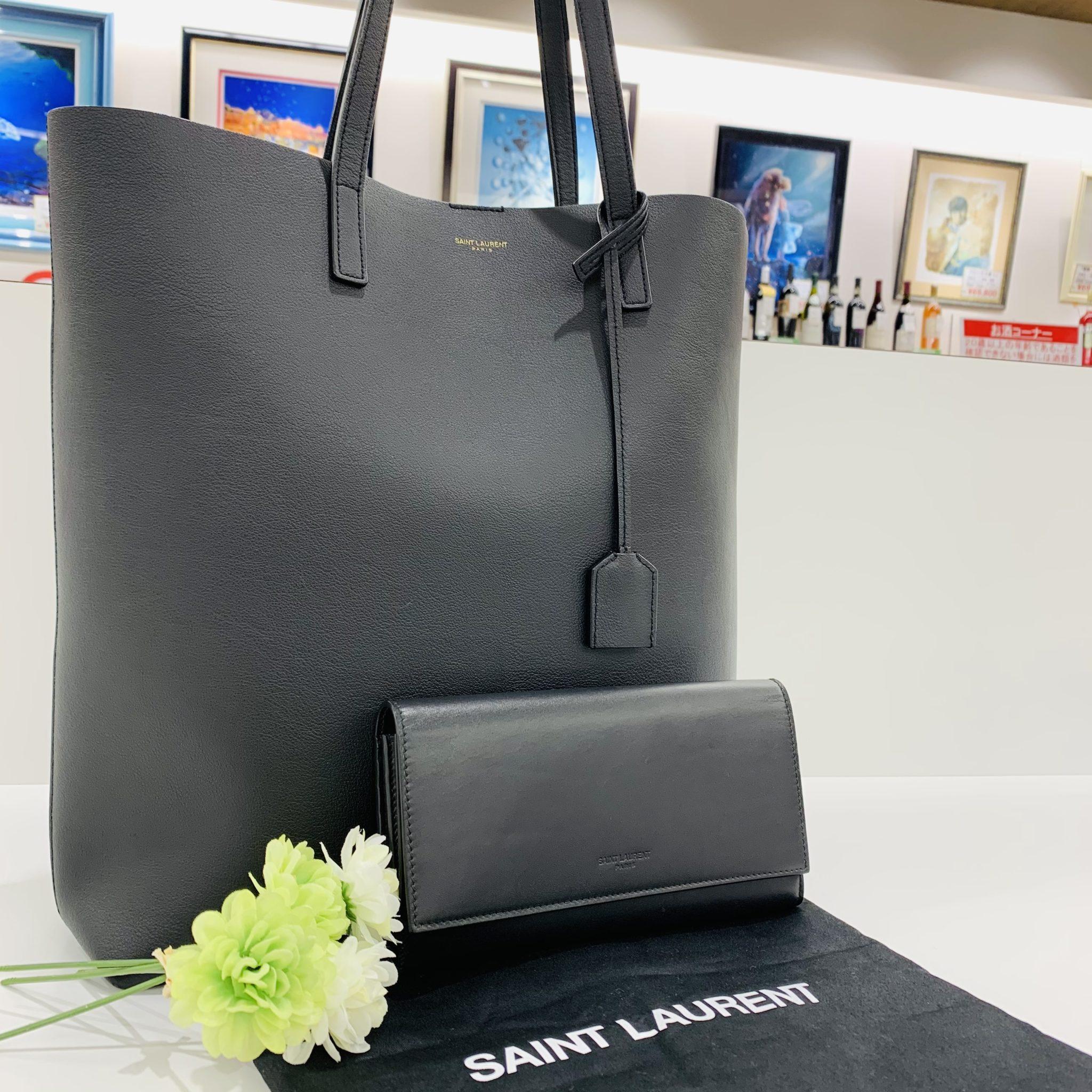 【ブランド 販売 盛岡】お揃いで持ちたい♡SAINT LAURENT サンローランのバッグ&ウォレット