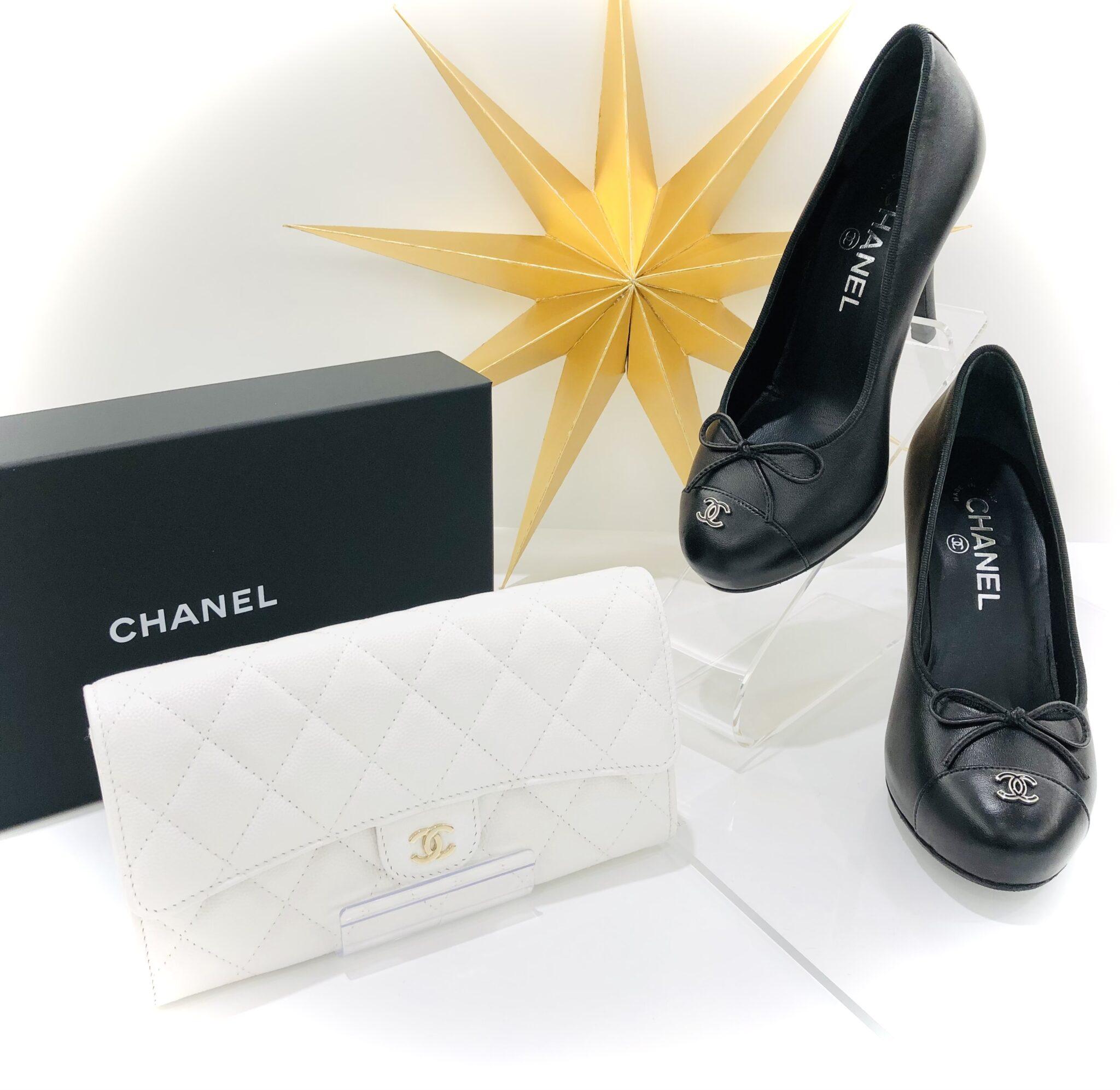 【シャネル 販売 盛岡】自分へのご褒美に✨憧れのブランドCHANELの長財布とパンプス
