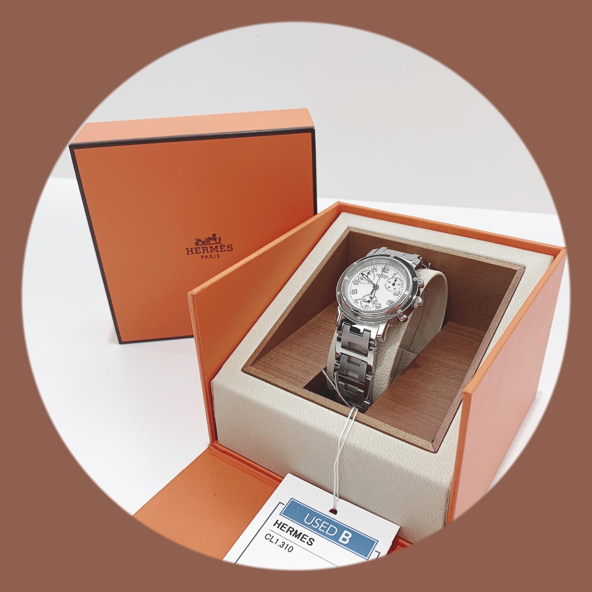 【盛岡 エルメス 販売】HERMES クリッパー 腕時計