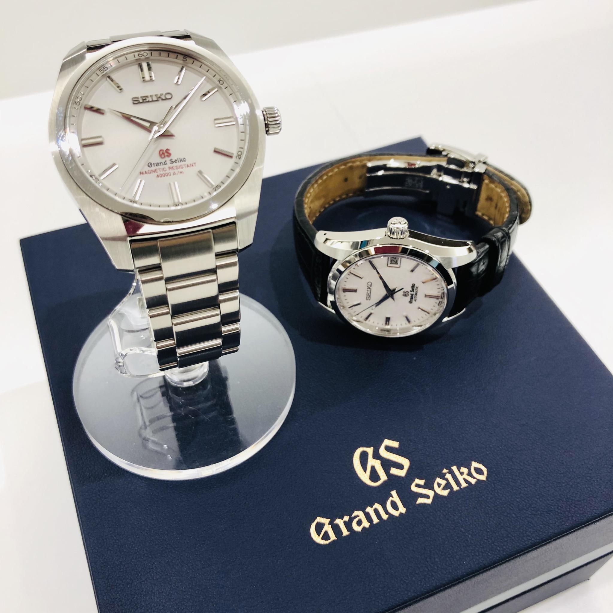 【盛岡 セイコー 販売】今話題の腕時計!! グランドセイコー