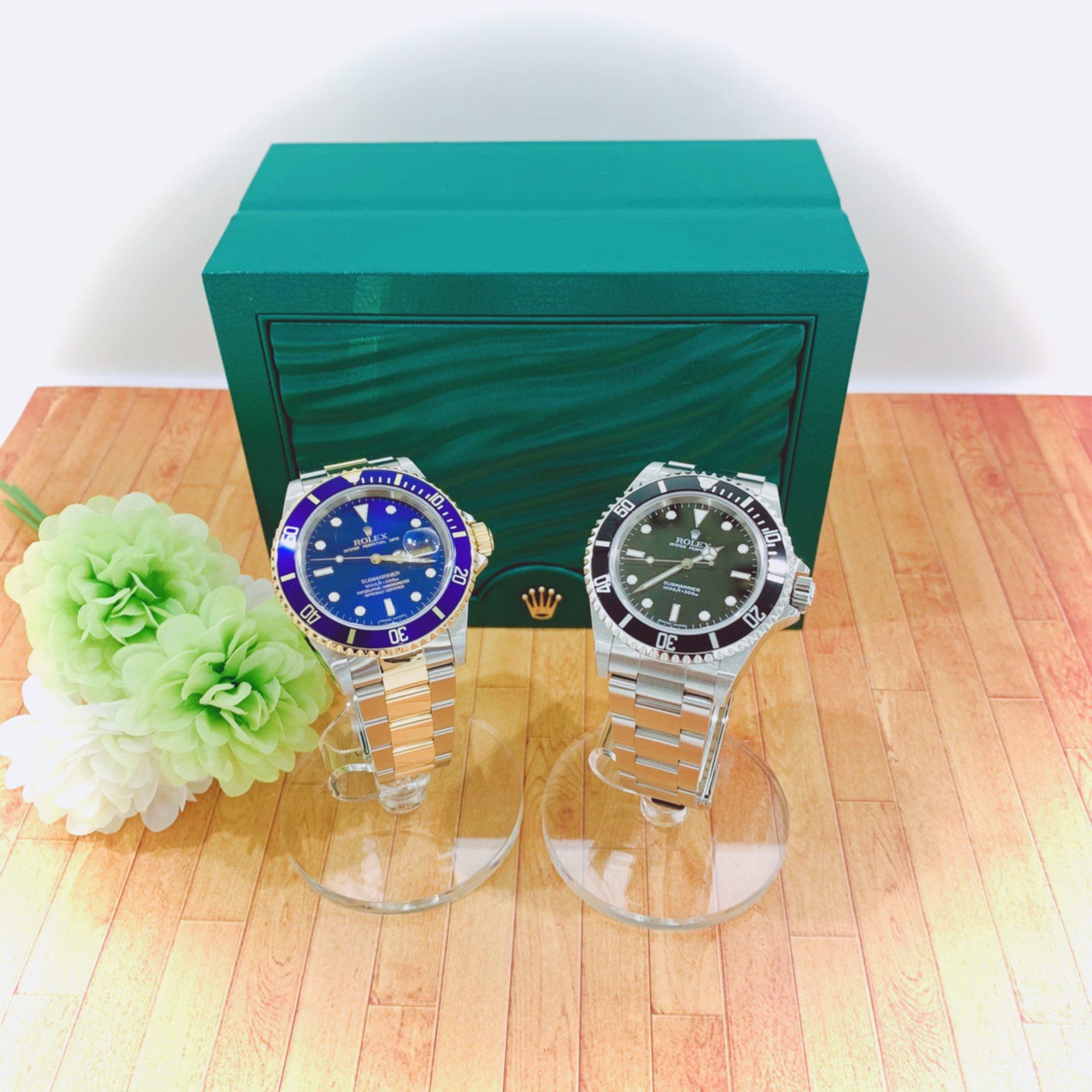 【時計 販売 盛岡】夏に向けてROLEX サブマリーナはいかがですか?