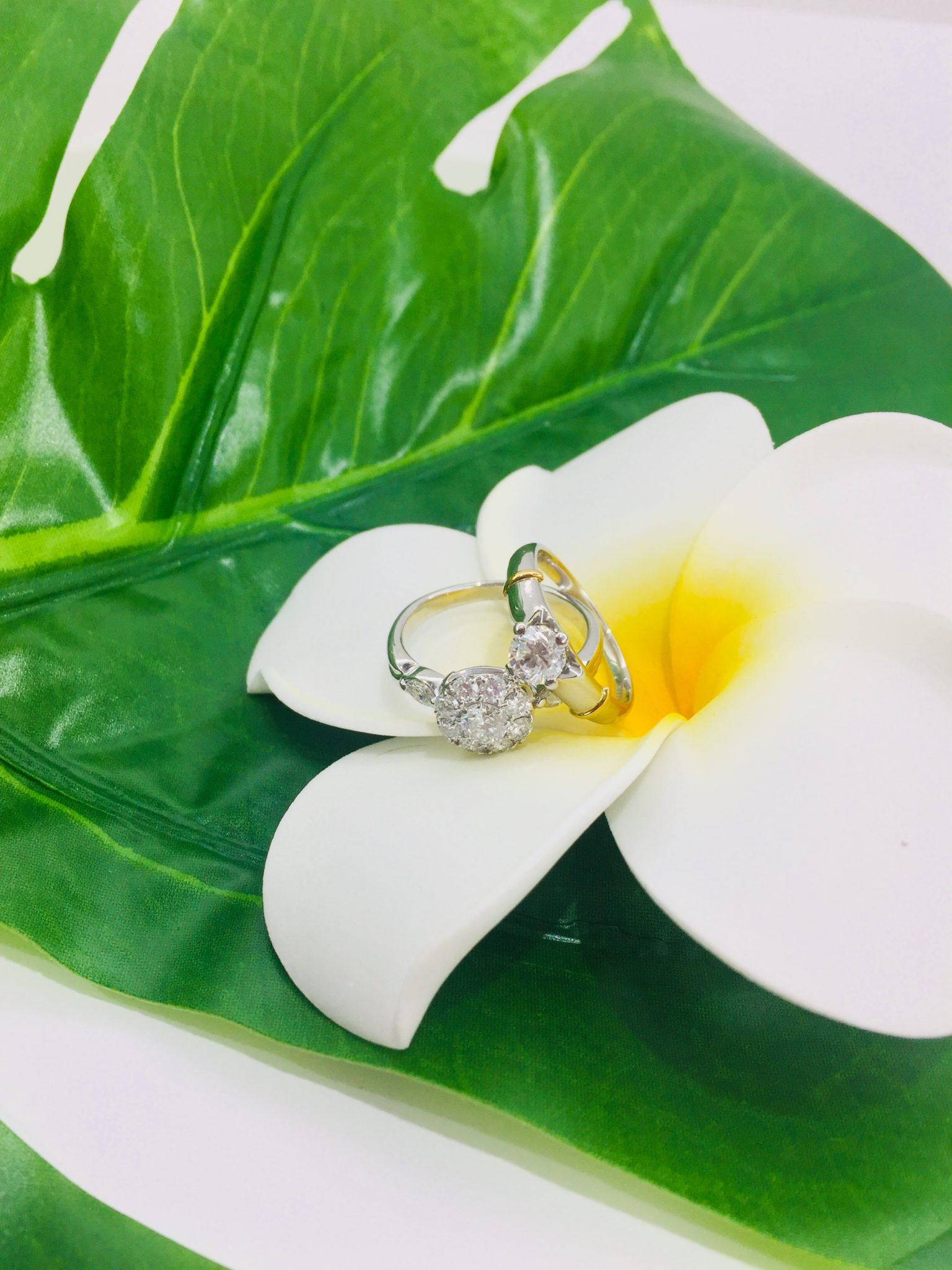 【盛岡 ジュエリー 販売】プラチナ ダイヤモンド リング 指輪