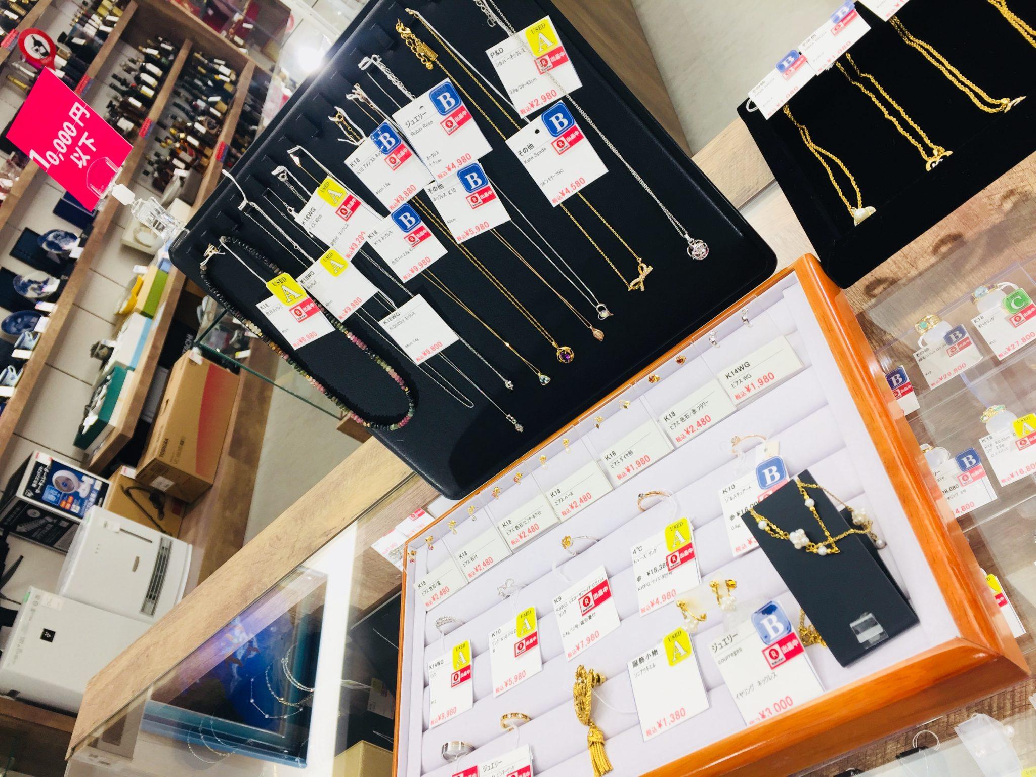 【盛岡 ジュエリー 販売】ALL~¥10,000 プチプラジュエリー