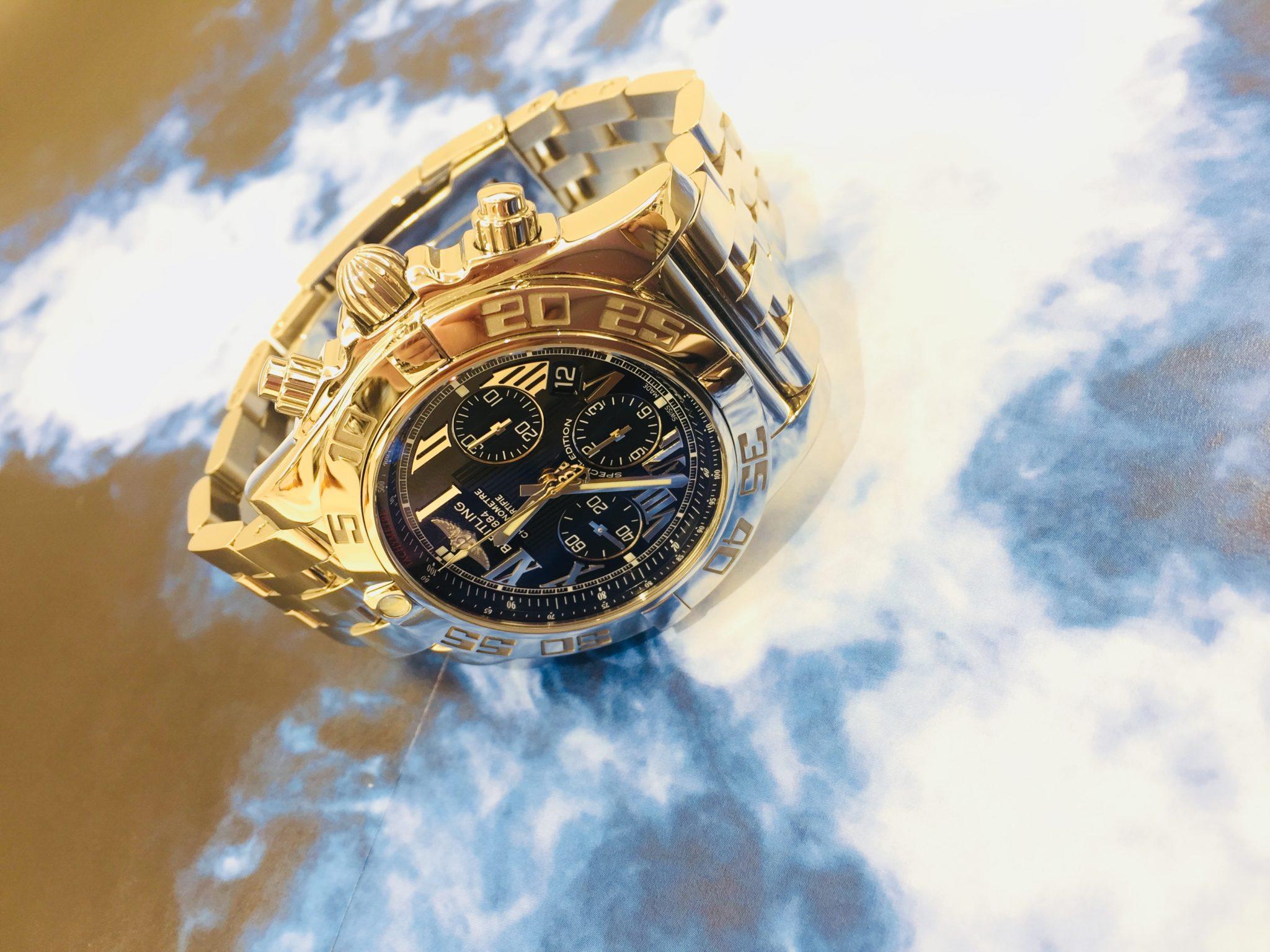 【盛岡 時計 販売】BREITLING ブライトリング クロノマット44 AB011012/BD89 自動巻き時計