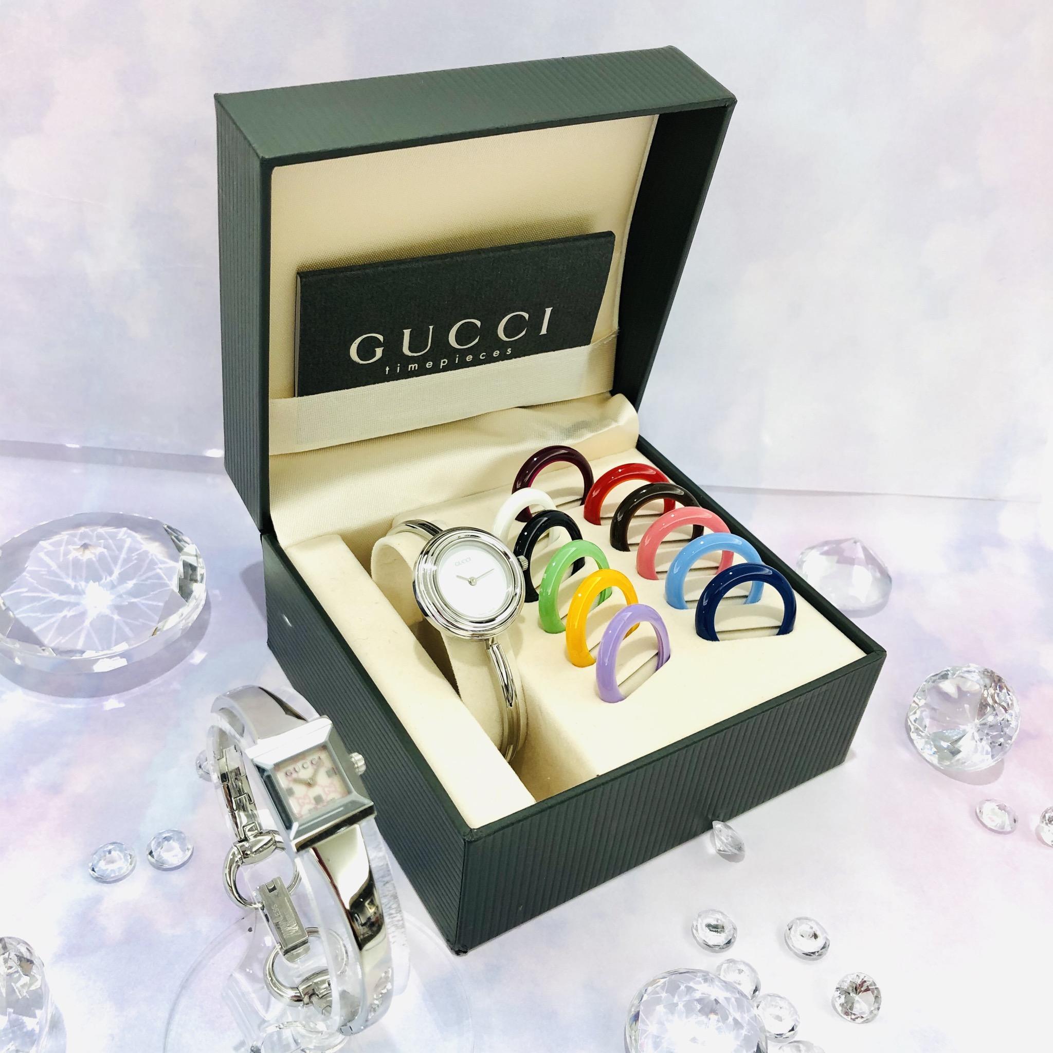 【盛岡 時計 販売】GUCCIの腕時計 気分やお洋服に合わせて時計をコーディネート!!