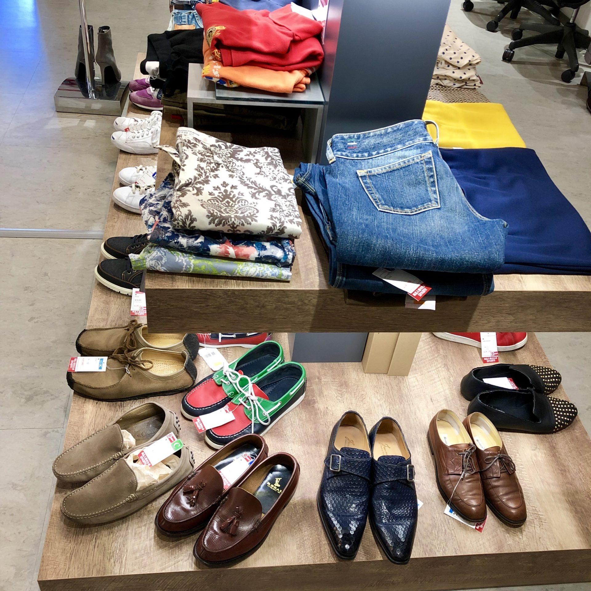 【盛岡 アパレル 販売】人気ブランドの洋服や靴が一部『50%OFF』!!