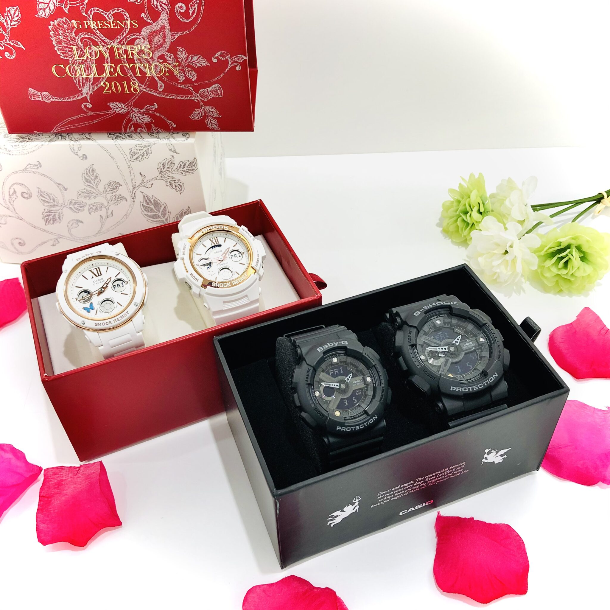 【時計 販売 盛岡】G PRESENTS LOVER'S COLLECTION✨G-SHOCK&BABY-G 限定セット