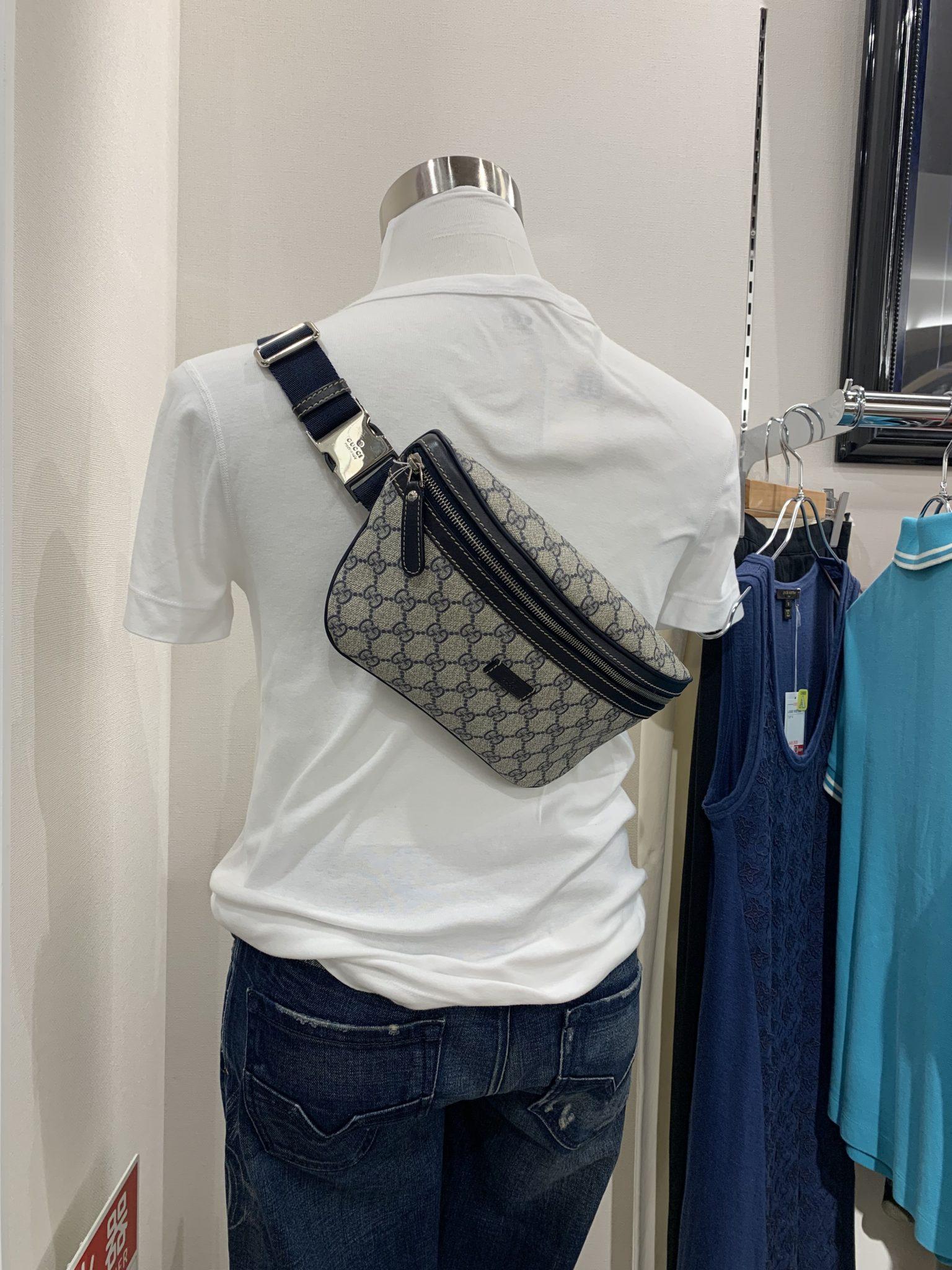【盛岡 GUCCI 販売】グッチ GGプラス ベルトバッグ