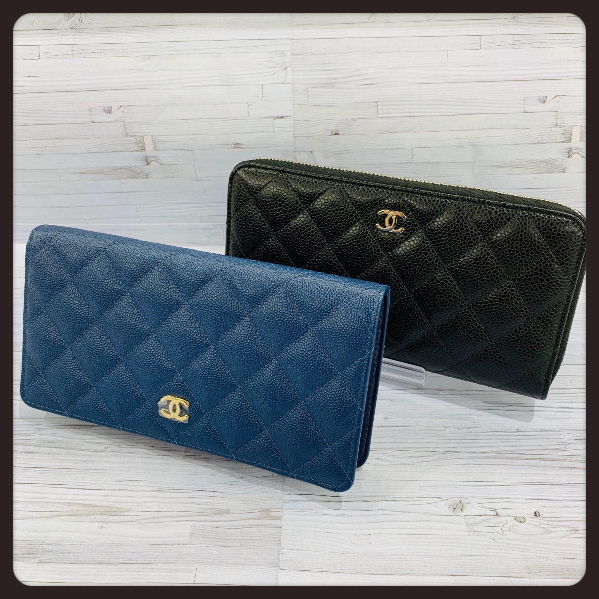 【CHANEL 販売 盛岡】シンプルな中に高級感♡飽きずに長くお使いいただける【CHANEL】の財布