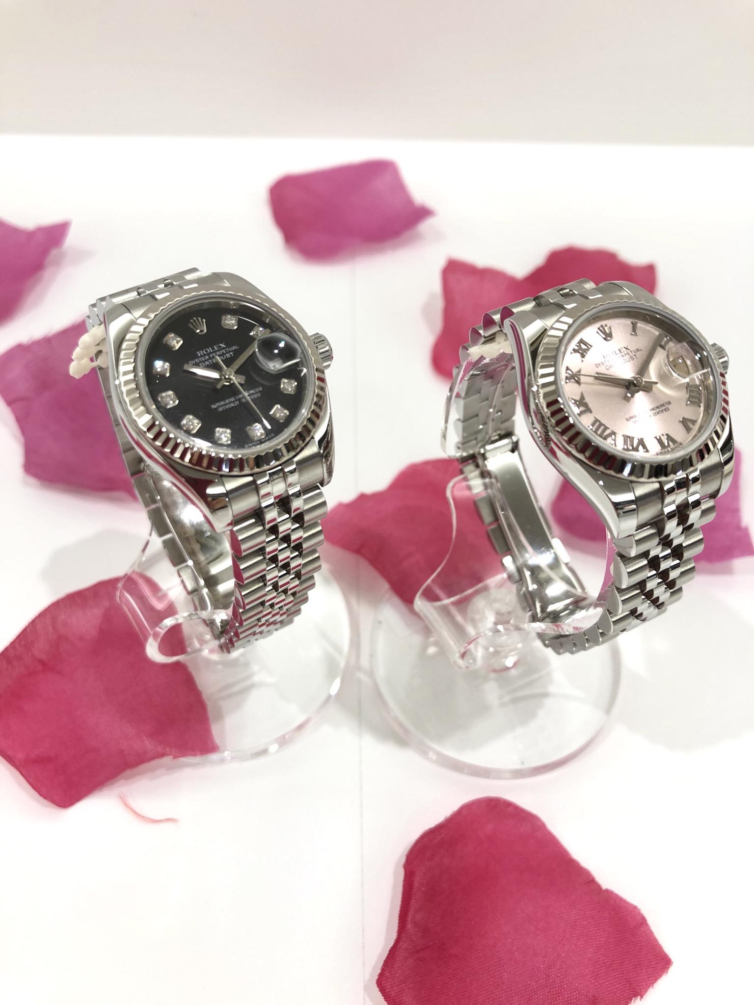 【盛岡 時計 販売】男女問わず高い人気を誇る腕時計『ROLEX』ロレックス