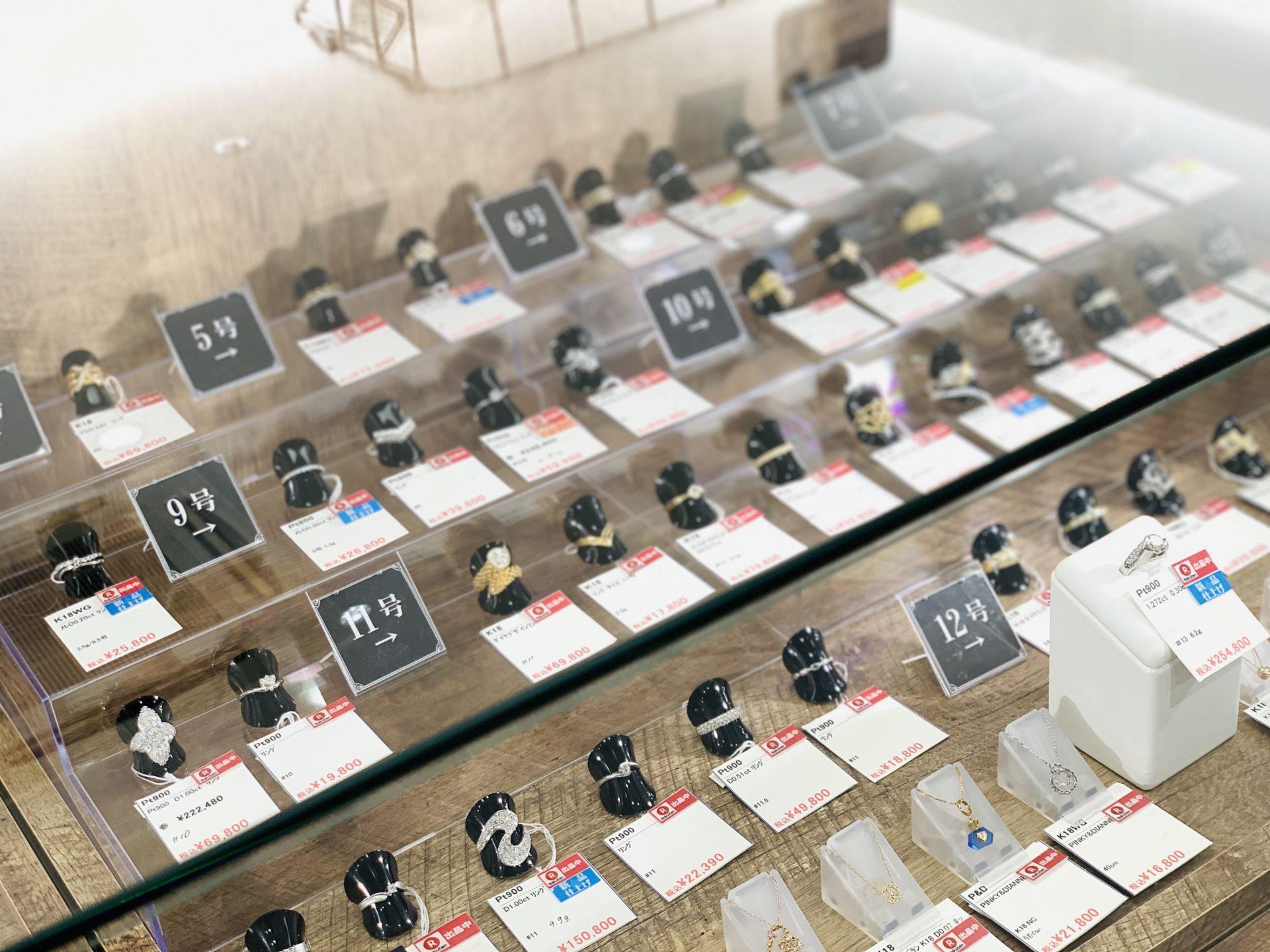 【盛岡 ジュエリー 販売】ジュエリーコーナーが変わりました!!
