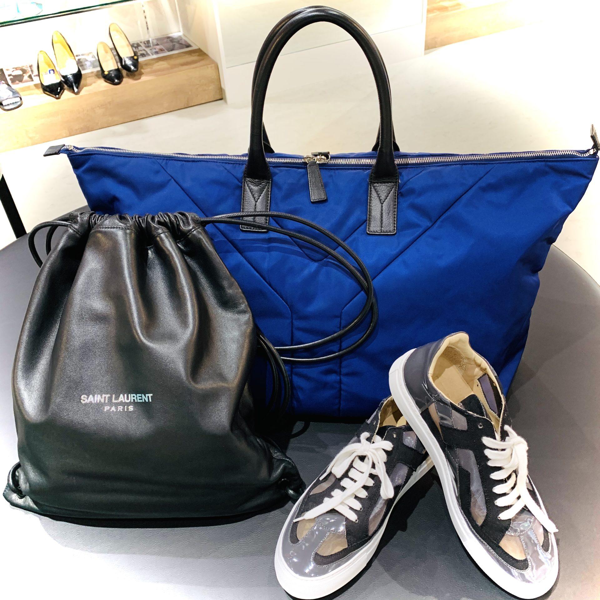 【中古 販売 盛岡】SAINT LAURANTのバッグを持って遠出しませんか?