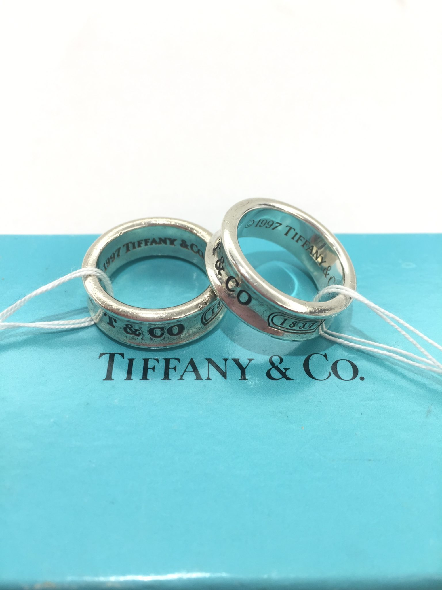 【盛岡 ティファニー 販売】TIFFANY&Co. ナローリング SV925