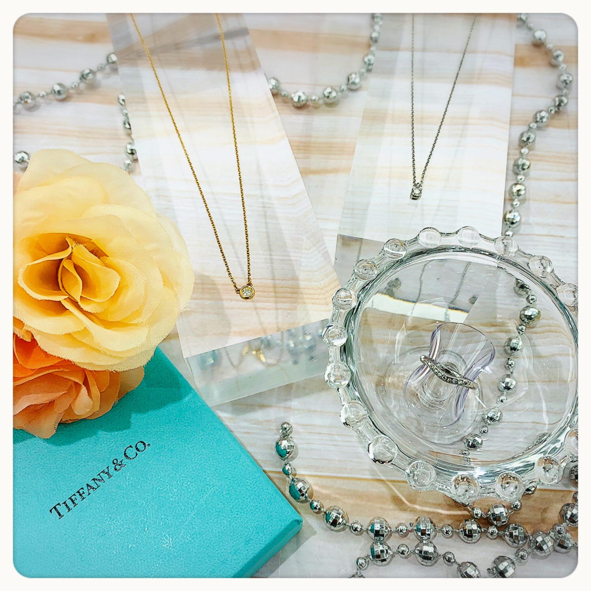 【ダイヤ 販売 盛岡】毎日身につけた~い🙌 TIFFANY&Co. のダイヤモンドジュエリー♡♡